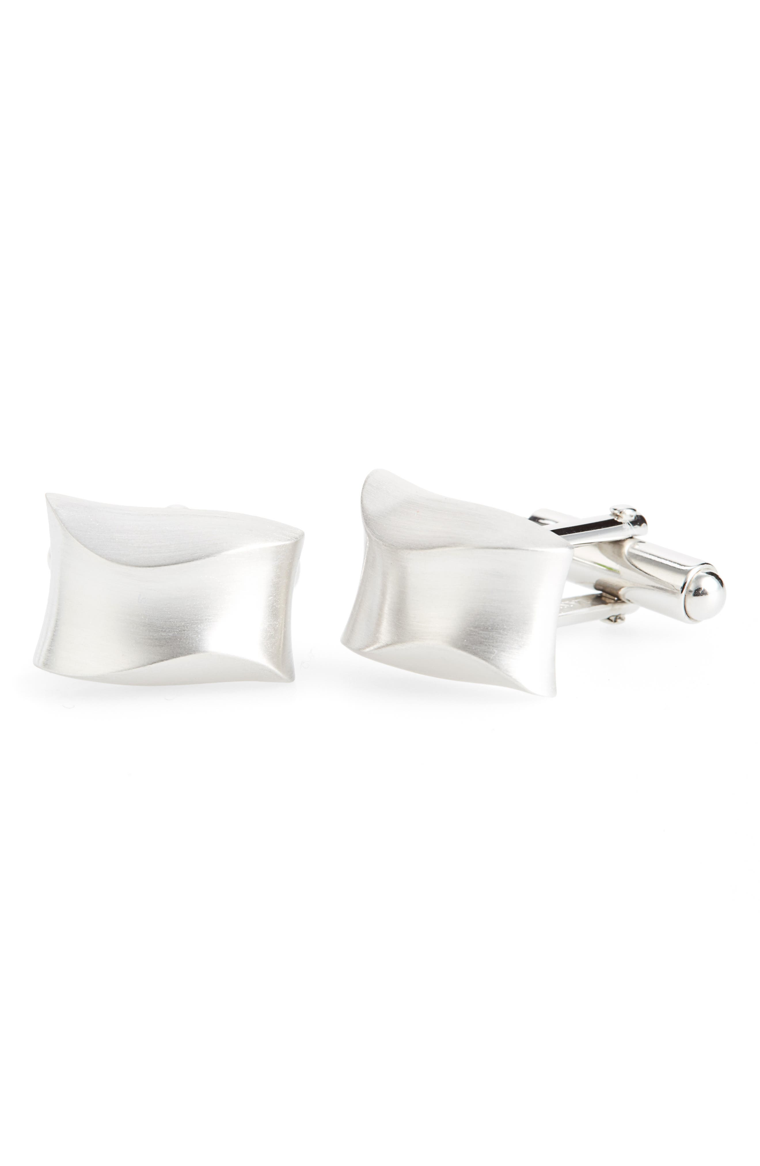 Curved Cuff Links,                             Main thumbnail 1, color,                             040