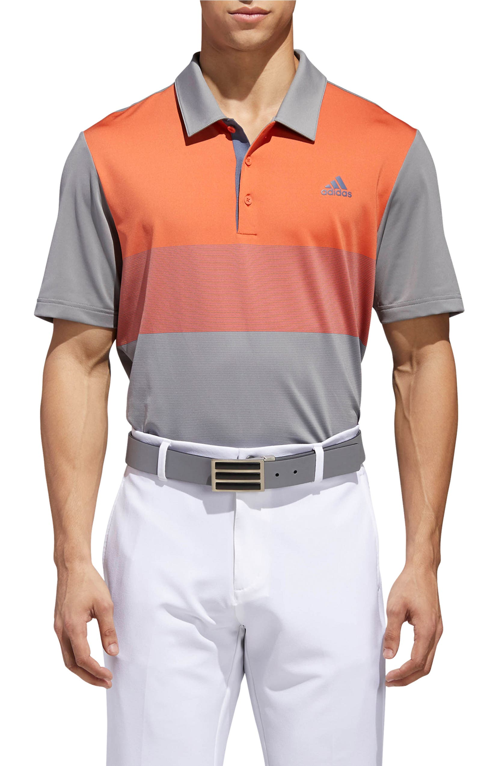 ea0639ff1bb adidas Golf Ultimate 365 Colorblock Jersey Polo
