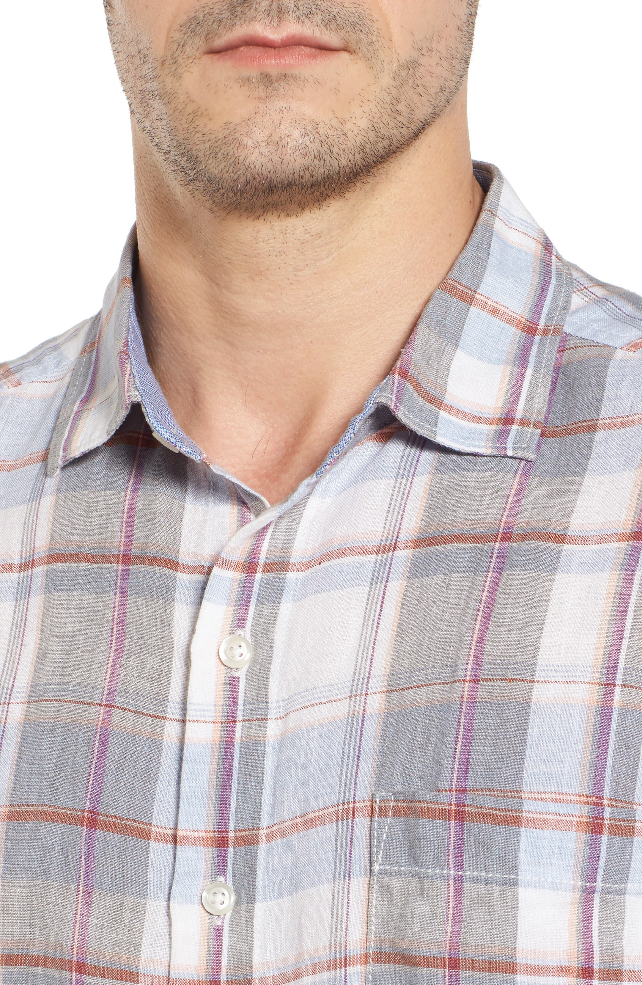 TOMMY BAHAMA,                             Lauderdale Regular Fit Sport Shirt,                             Alternate thumbnail 4, color,                             020