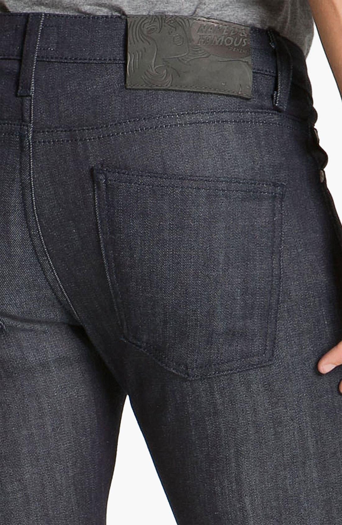 'Skinny Guy' Slim Cotton Cashmere Skinny Leg Jeans,                             Alternate thumbnail 2, color,                             400