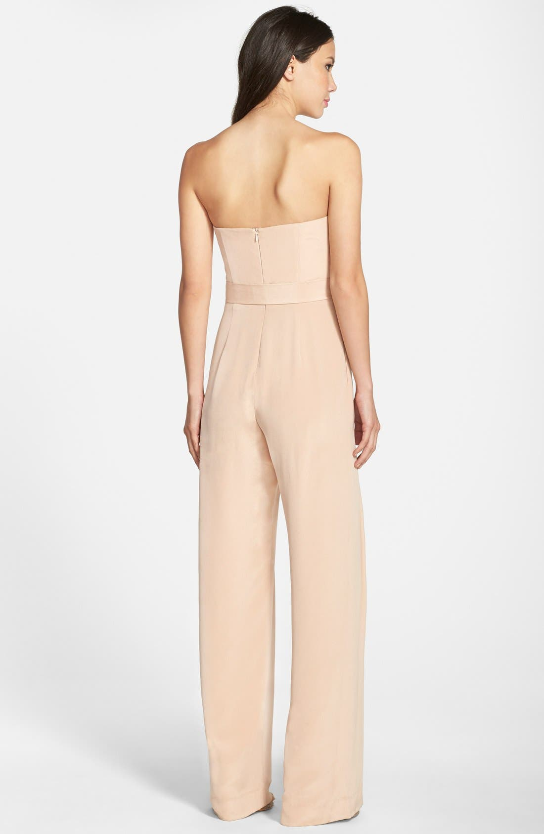 Strapless Jumpsuit,                             Alternate thumbnail 2, color,                             299