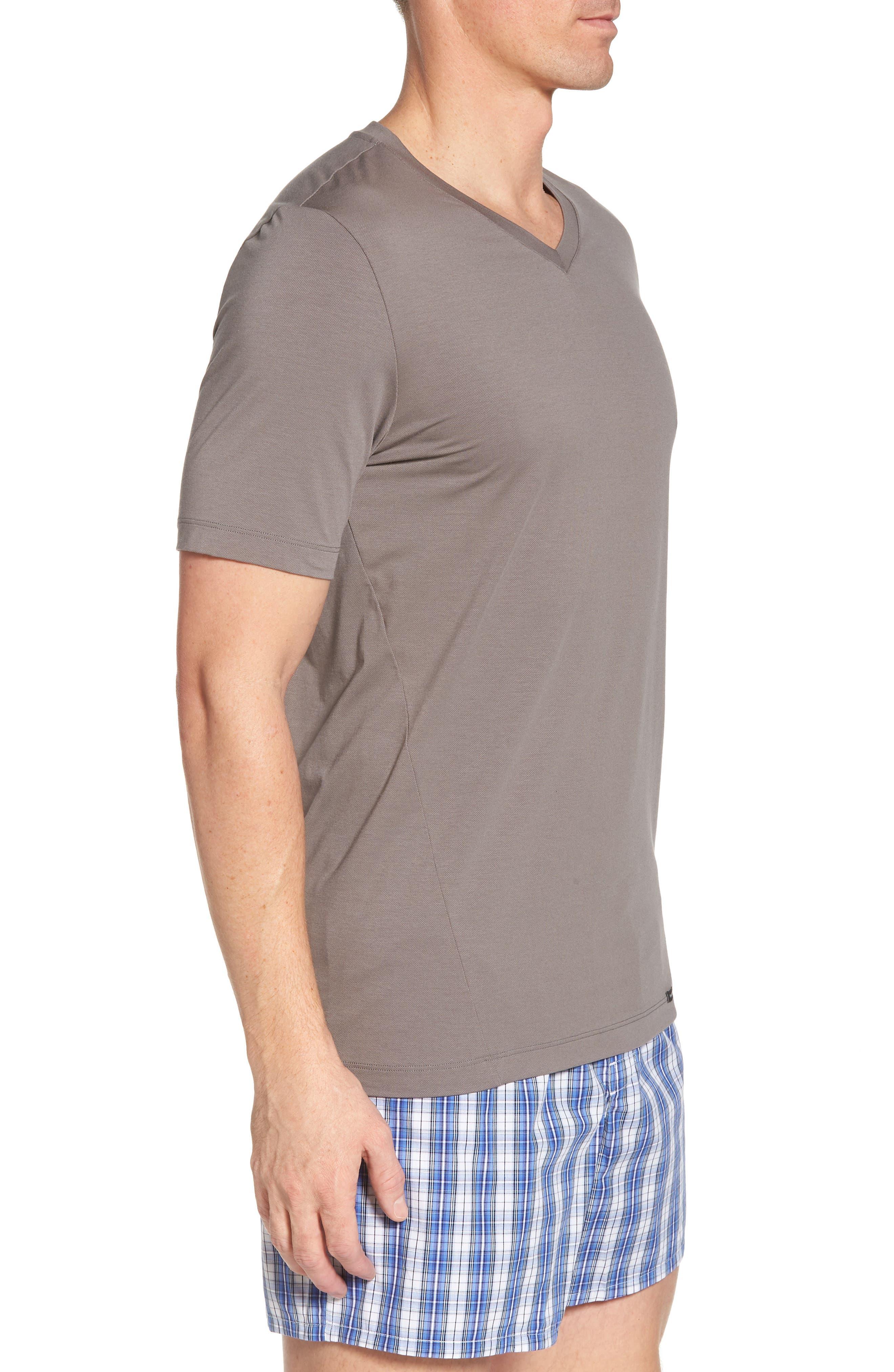Liam V-Neck T-Shirt,                             Alternate thumbnail 3, color,                             MOONROCK