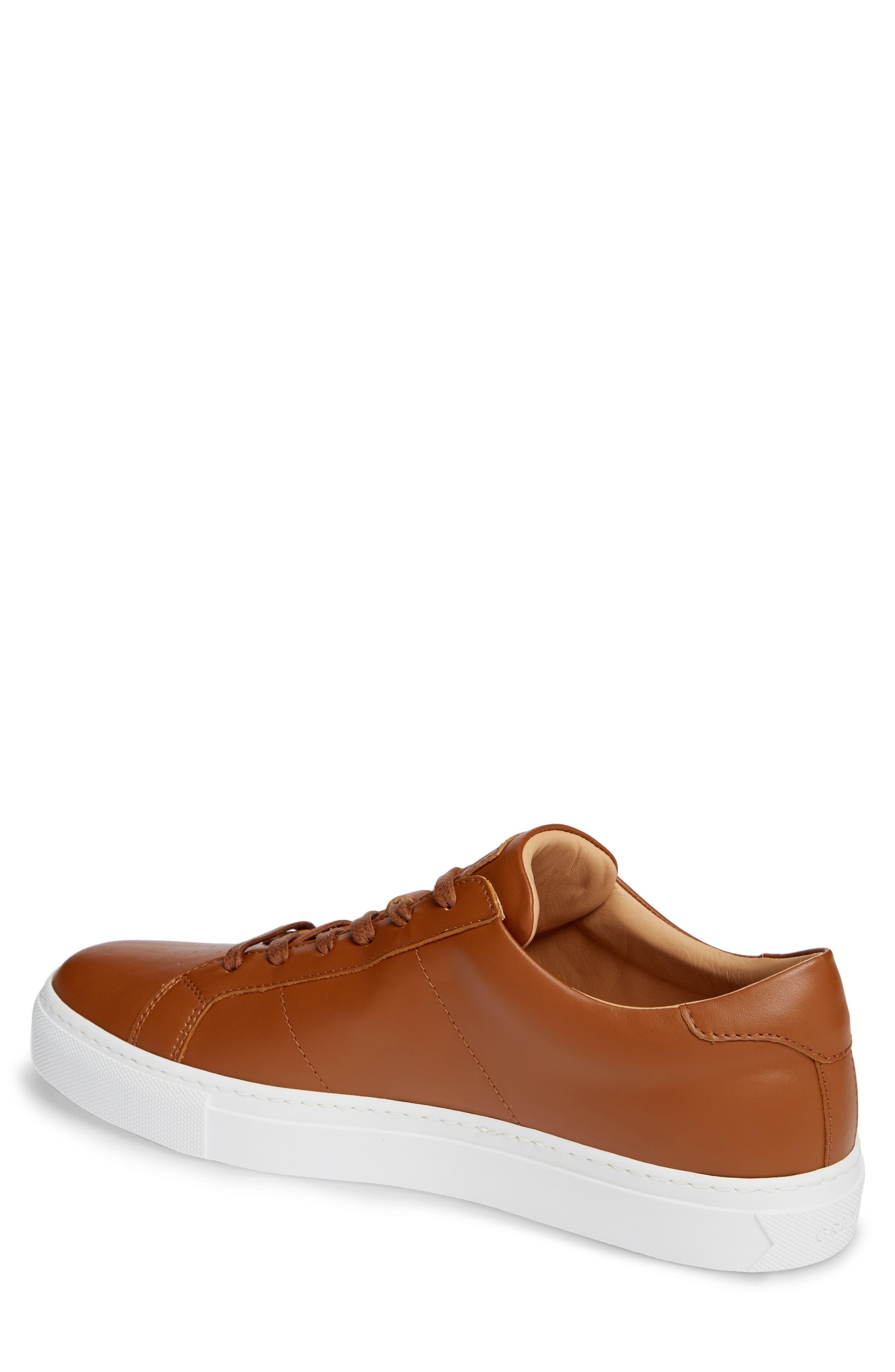 Royale Sneaker,                             Alternate thumbnail 2, color,                             TAN LEATHER