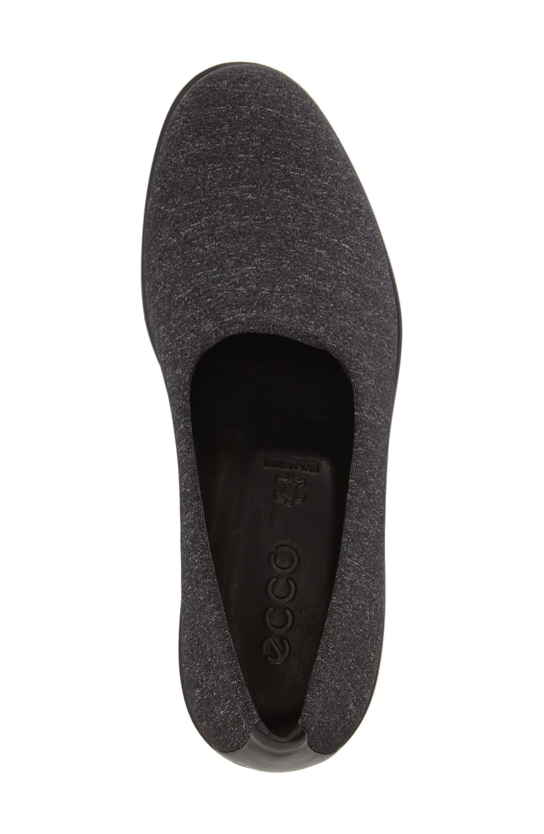 'Felicia - Stretch' Wedge Loafer,                             Alternate thumbnail 3, color,                             019