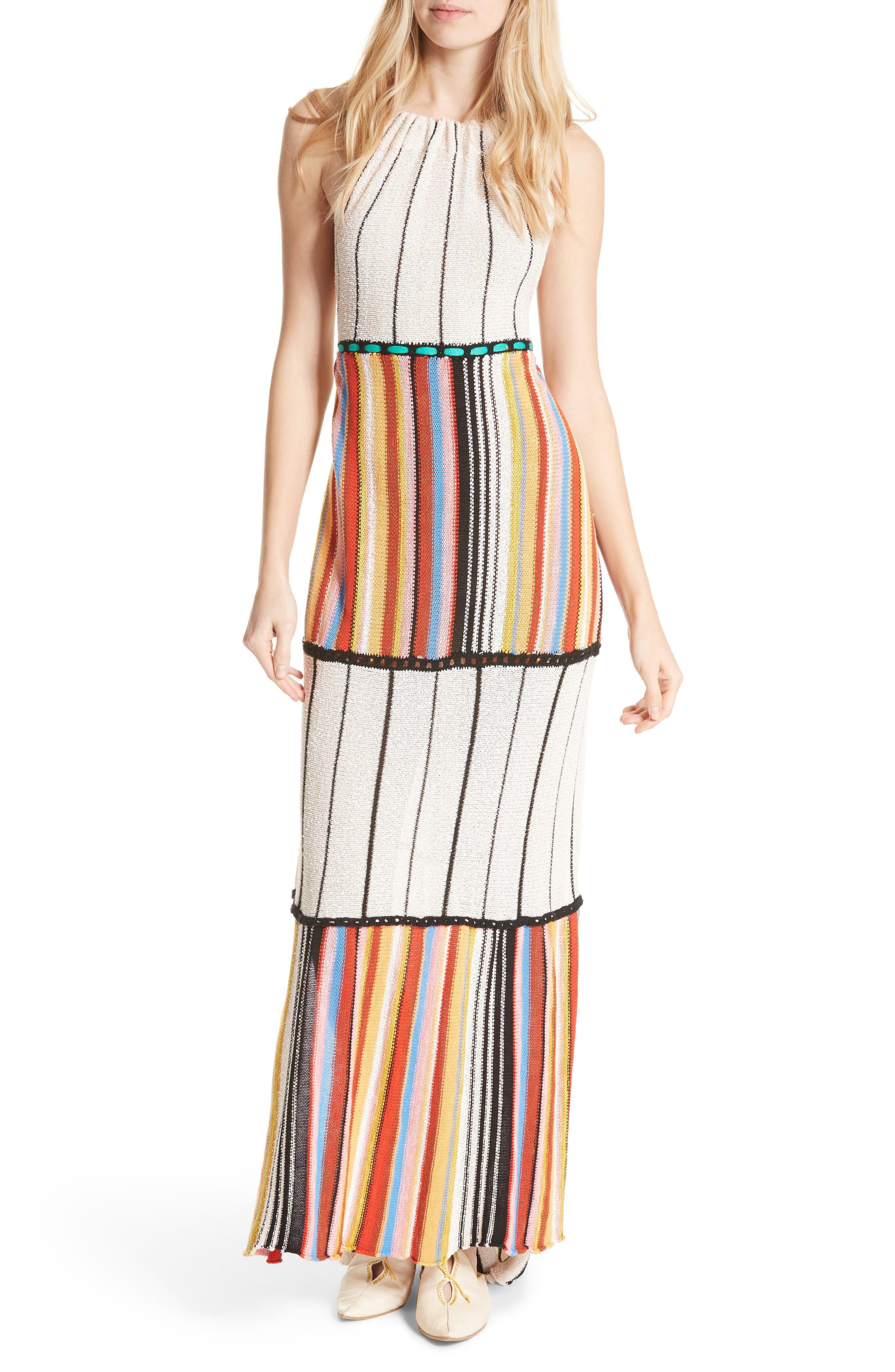 Mardi Gras Halter Maxi Dress,                             Main thumbnail 2, color,