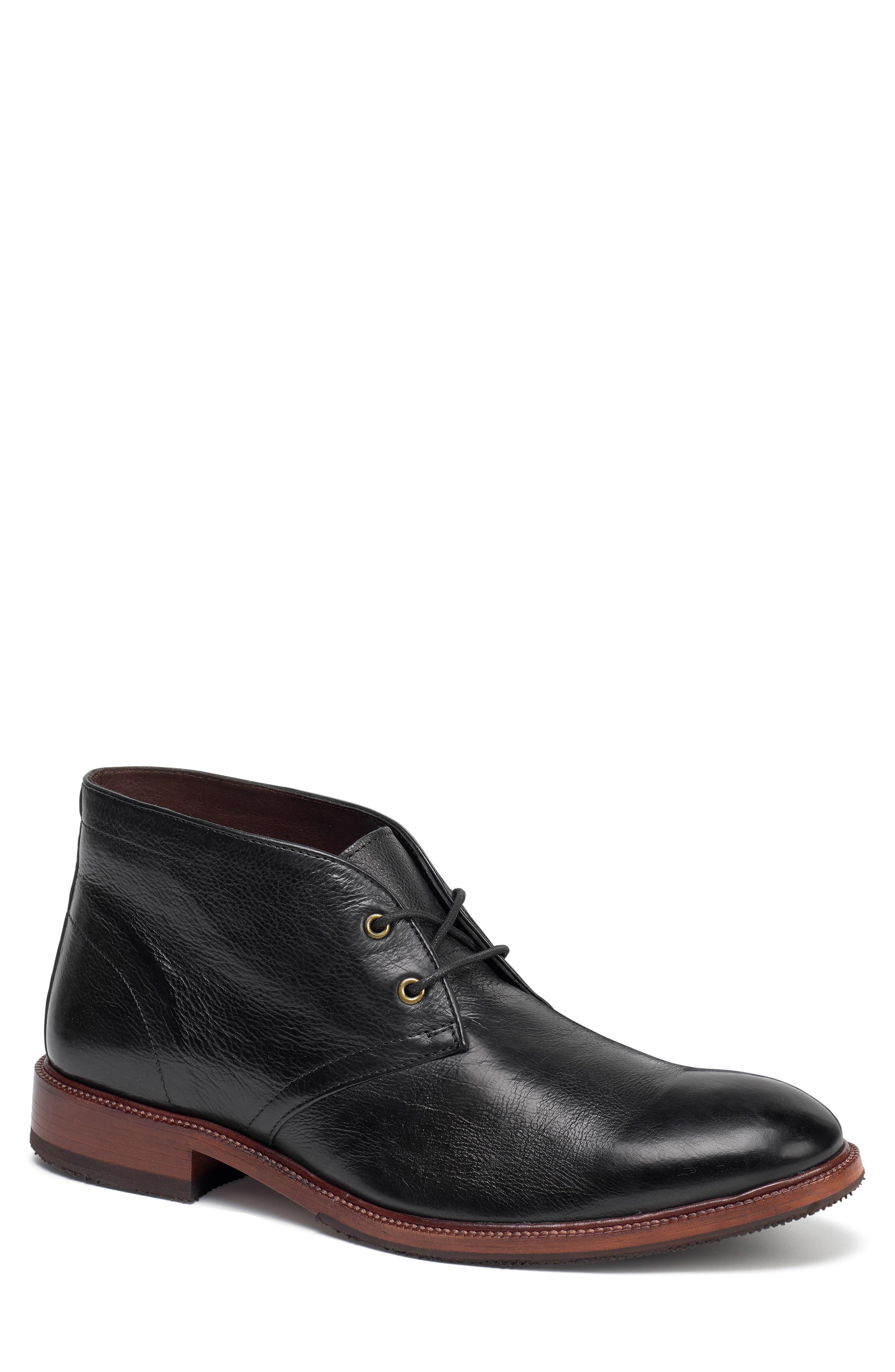 Trask Landers Chukka Boot, Black