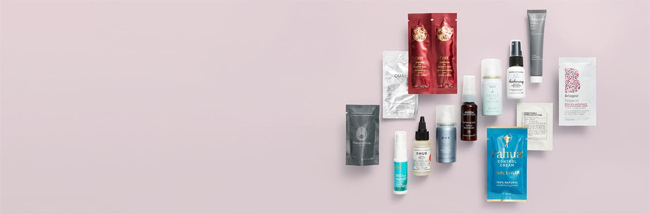Free 13-piece gift with your $65 hair care purchase.