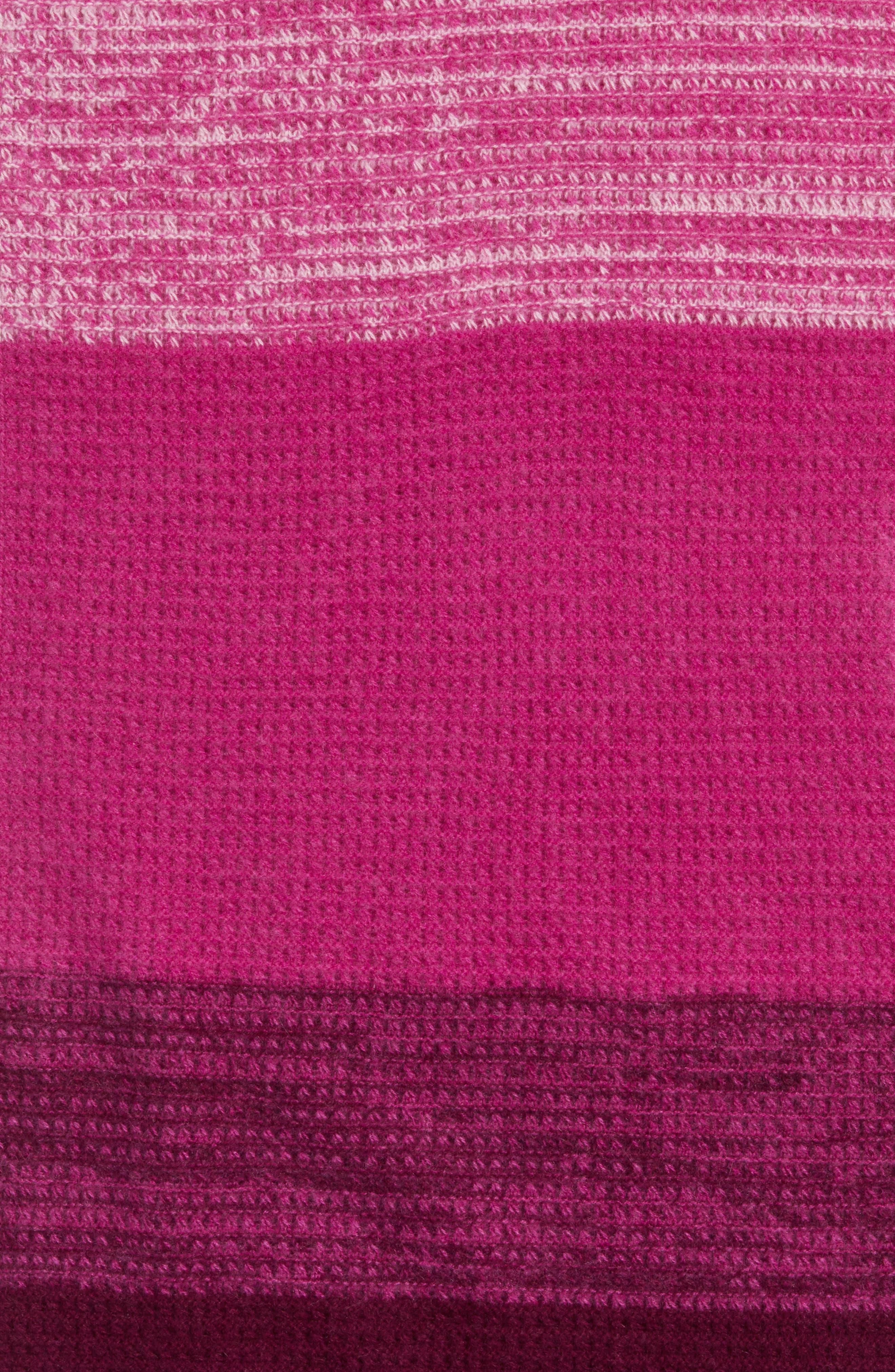 Ombré Cashmere Infinity Scarf,                             Alternate thumbnail 16, color,
