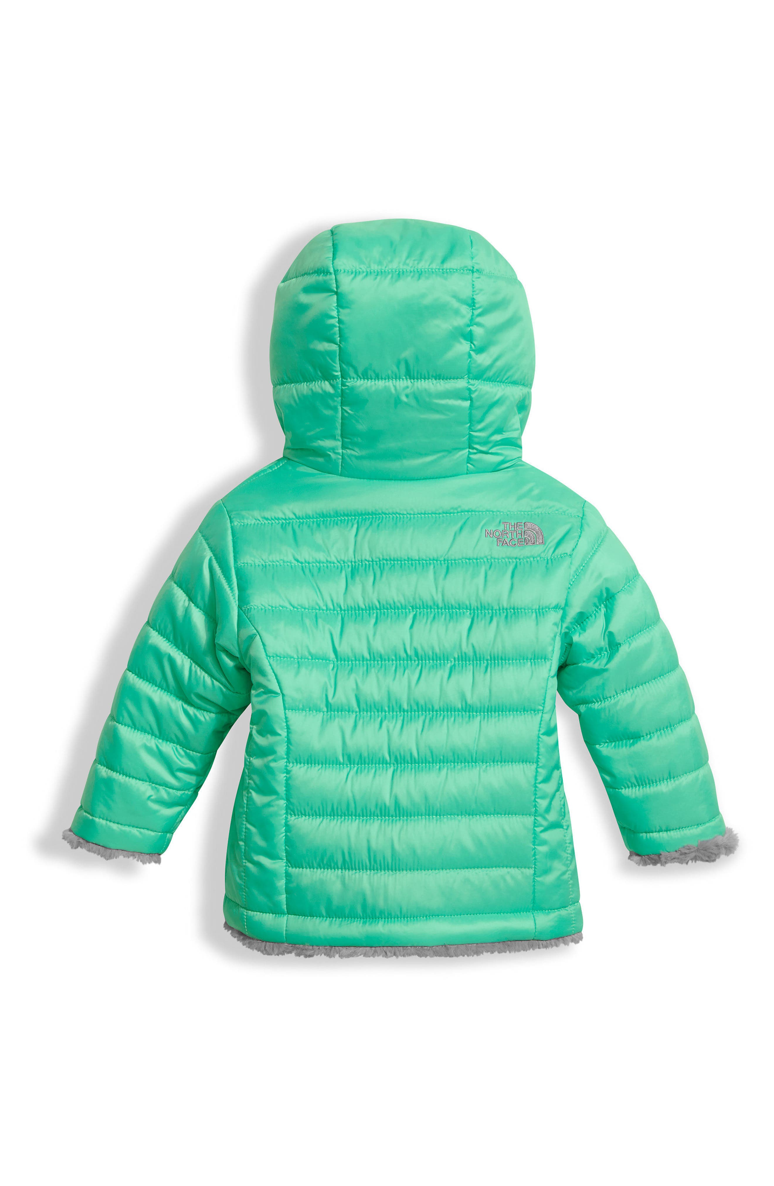 'Mossbud' Reversible Water Repellent Jacket,                             Alternate thumbnail 3, color,                             310