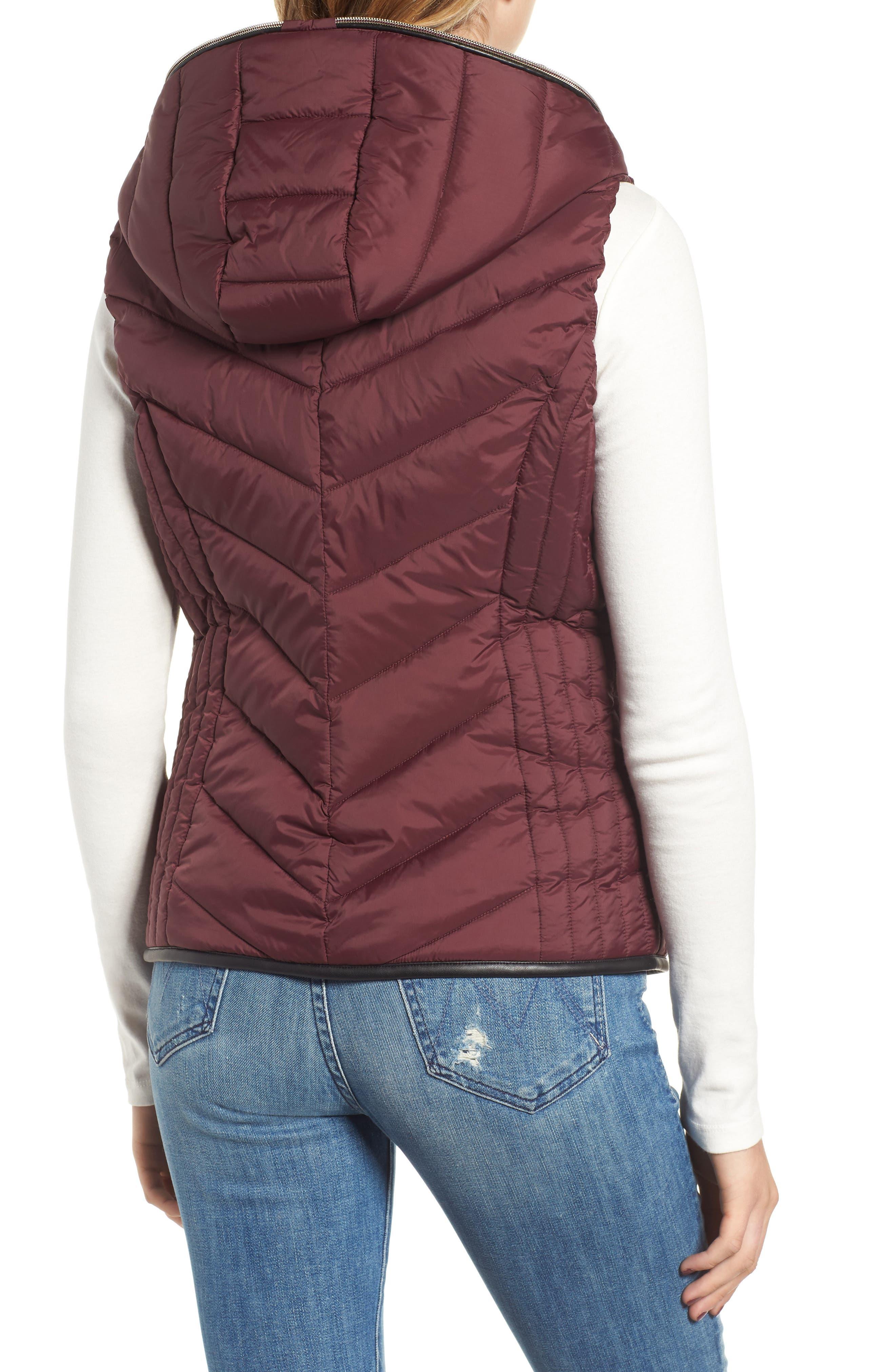 Hooded Puffer Vest,                             Alternate thumbnail 2, color,                             619