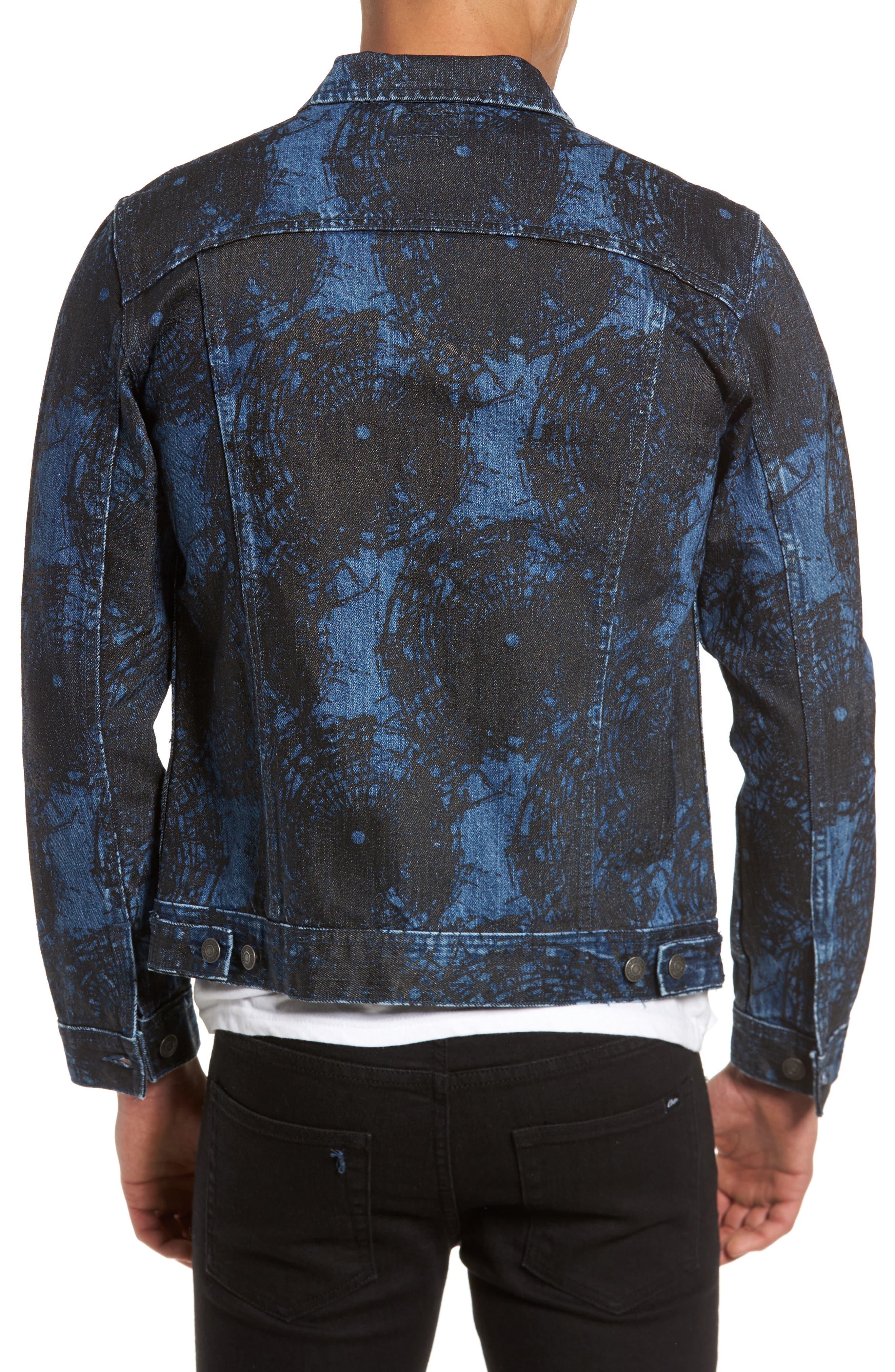 Shattered Denim Jacket,                             Alternate thumbnail 2, color,                             002