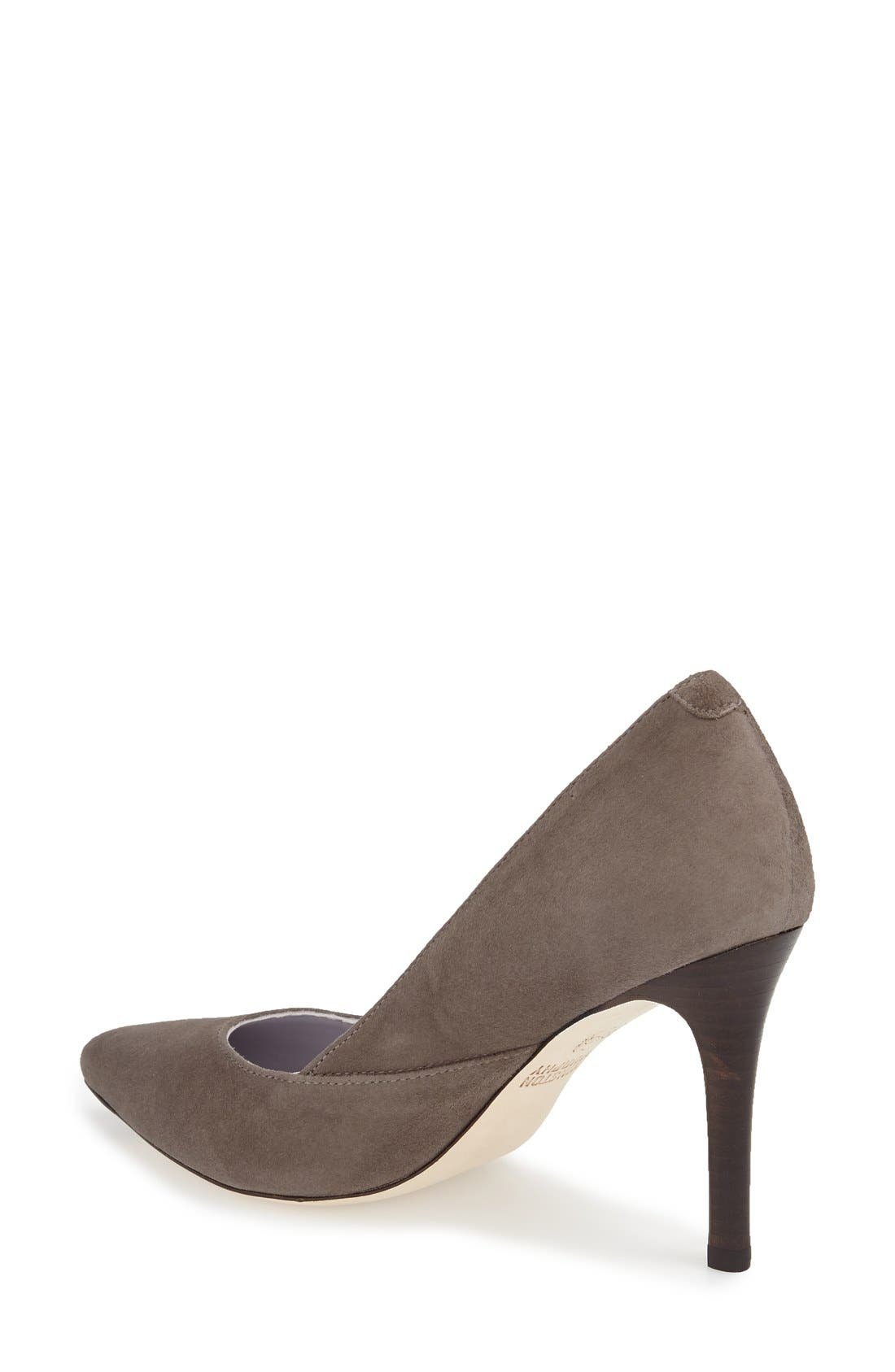 'Vanessa' Pointy Toe Leather Pump,                             Alternate thumbnail 11, color,