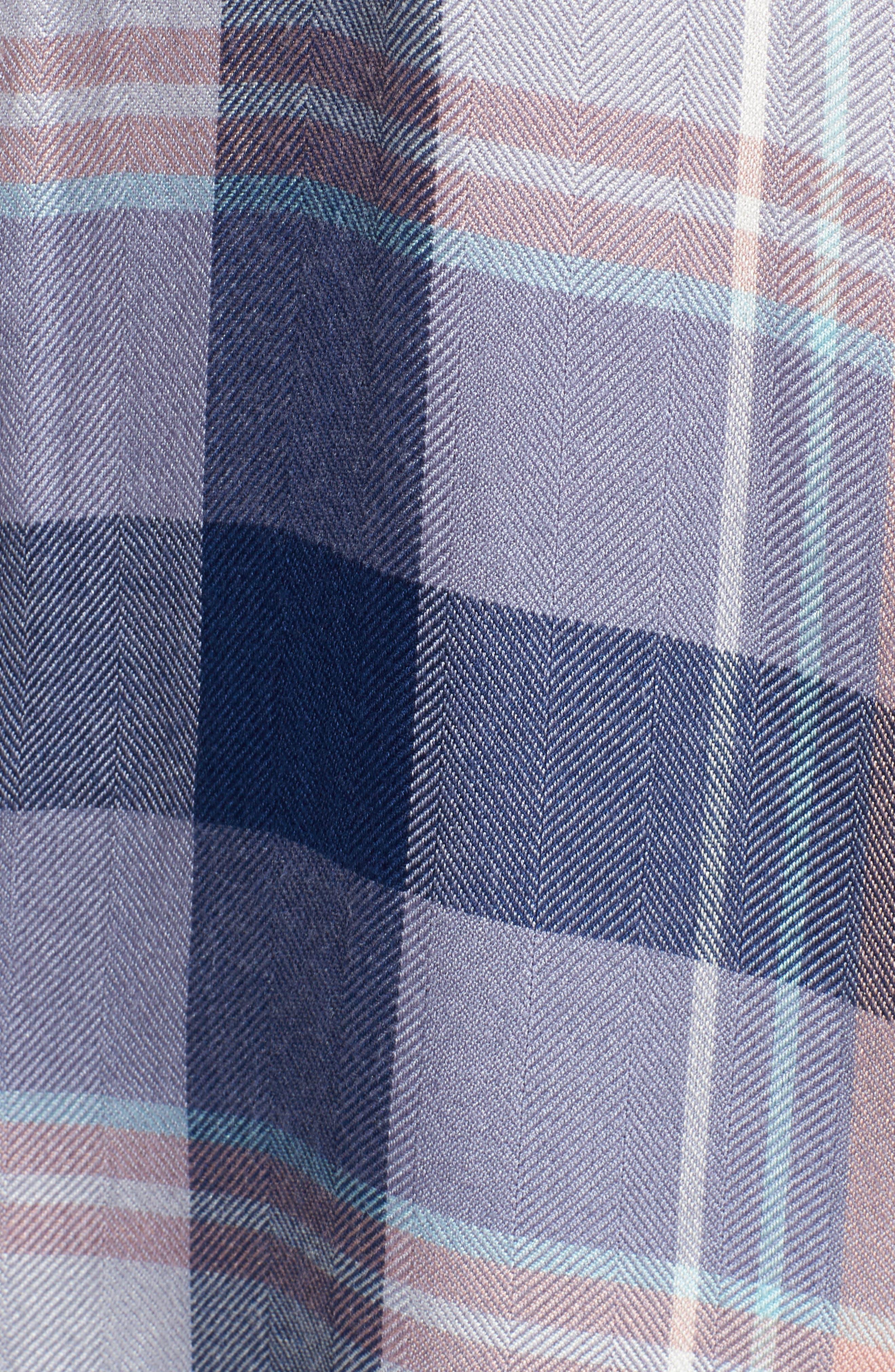 Hunter Plaid Shirt,                             Alternate thumbnail 606, color,