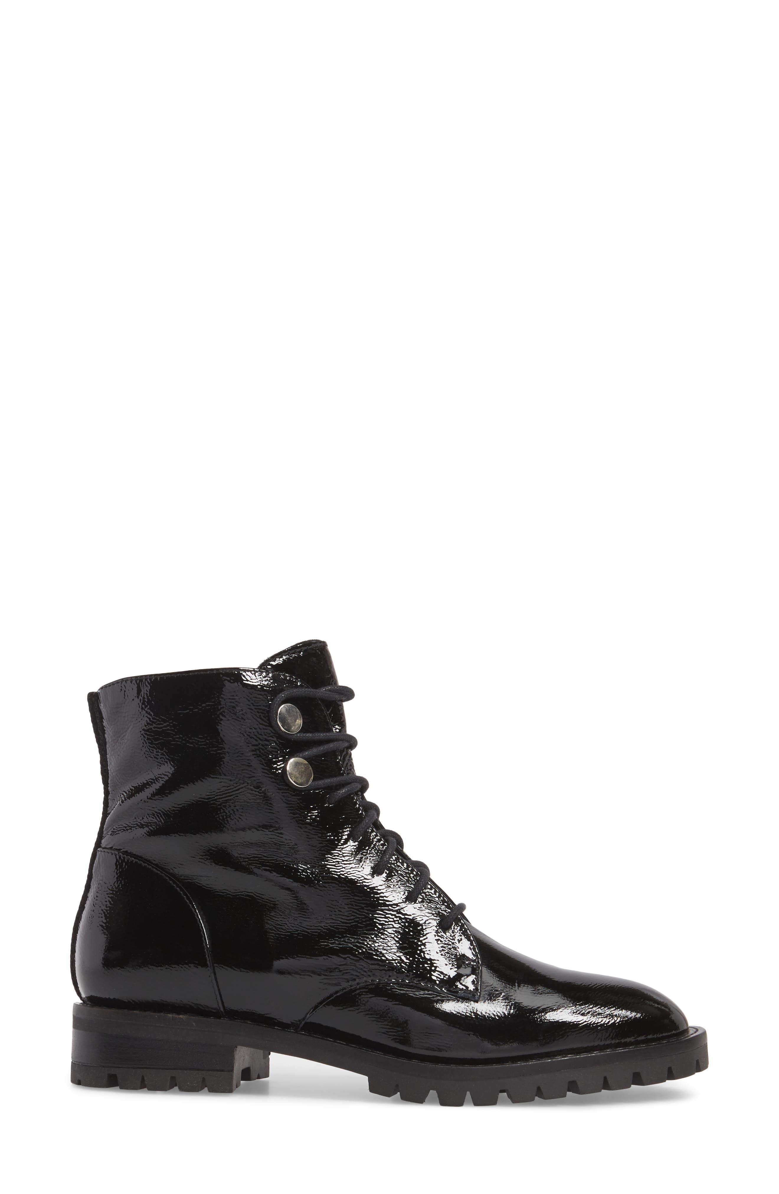 Francesca Lace-Up Boot,                             Alternate thumbnail 3, color,