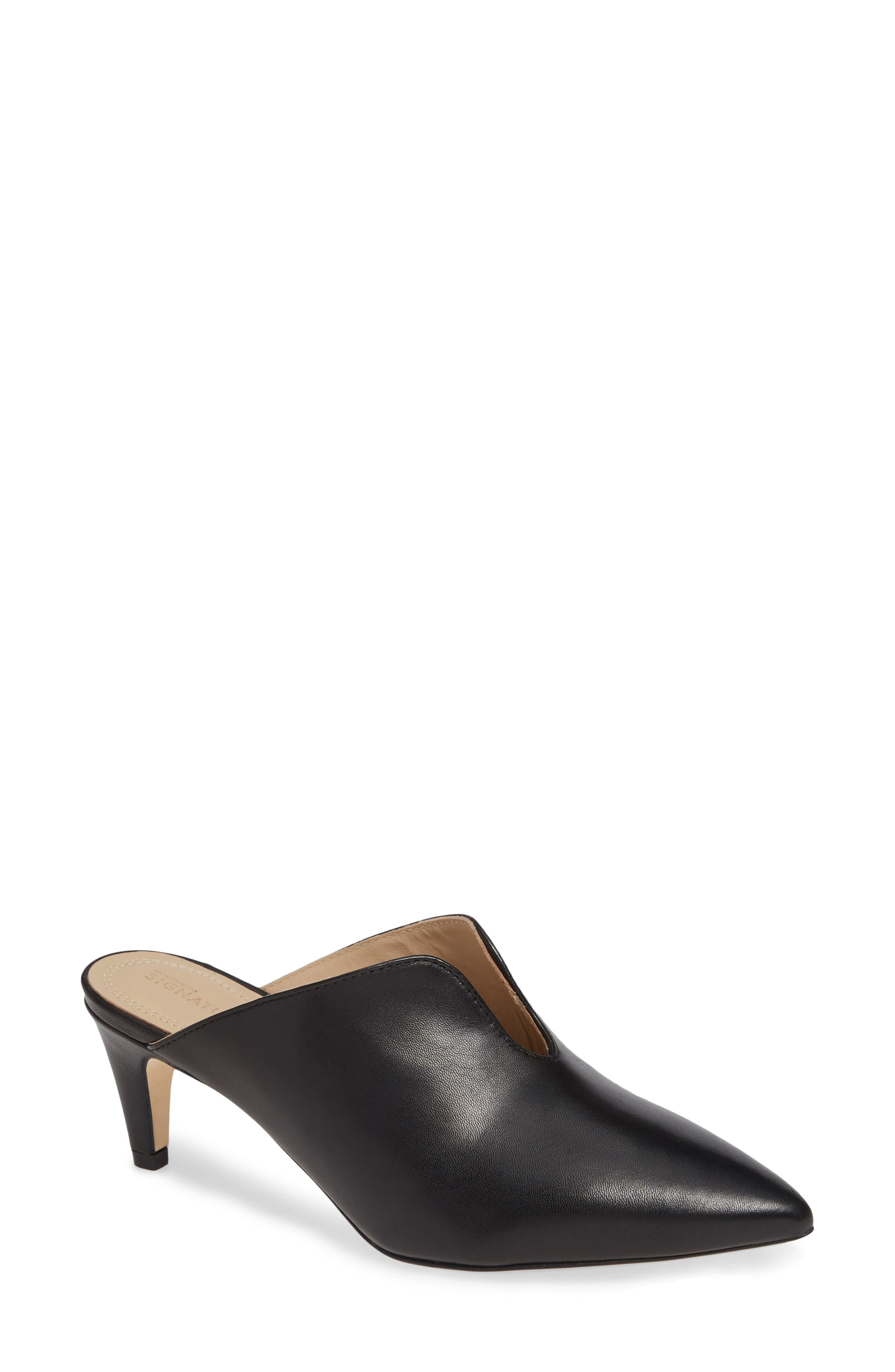 Allegra Notched Mule, Main, color, 001