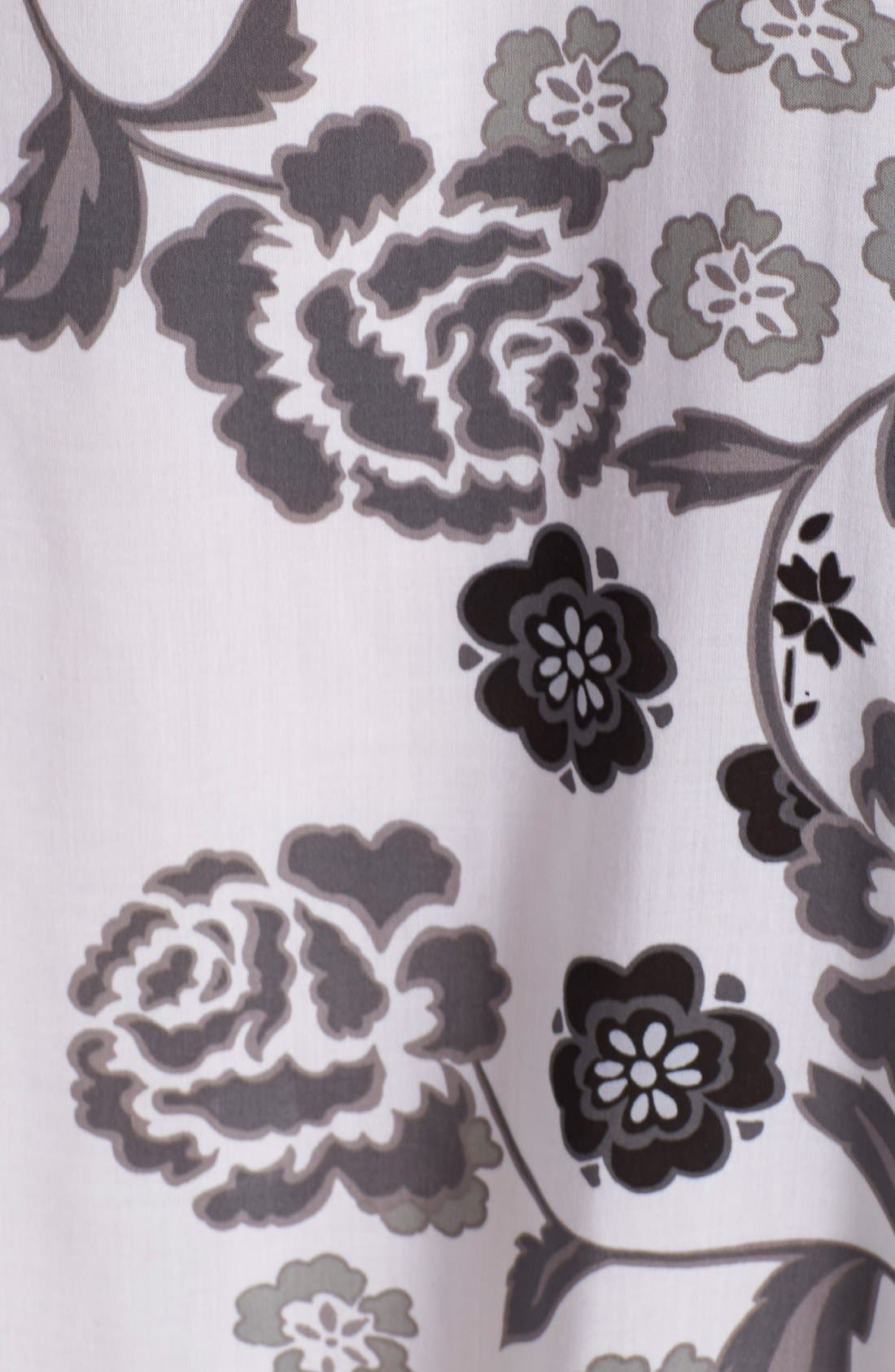 'Lovely Roses' Sleep Shirt,                             Alternate thumbnail 4, color,                             100