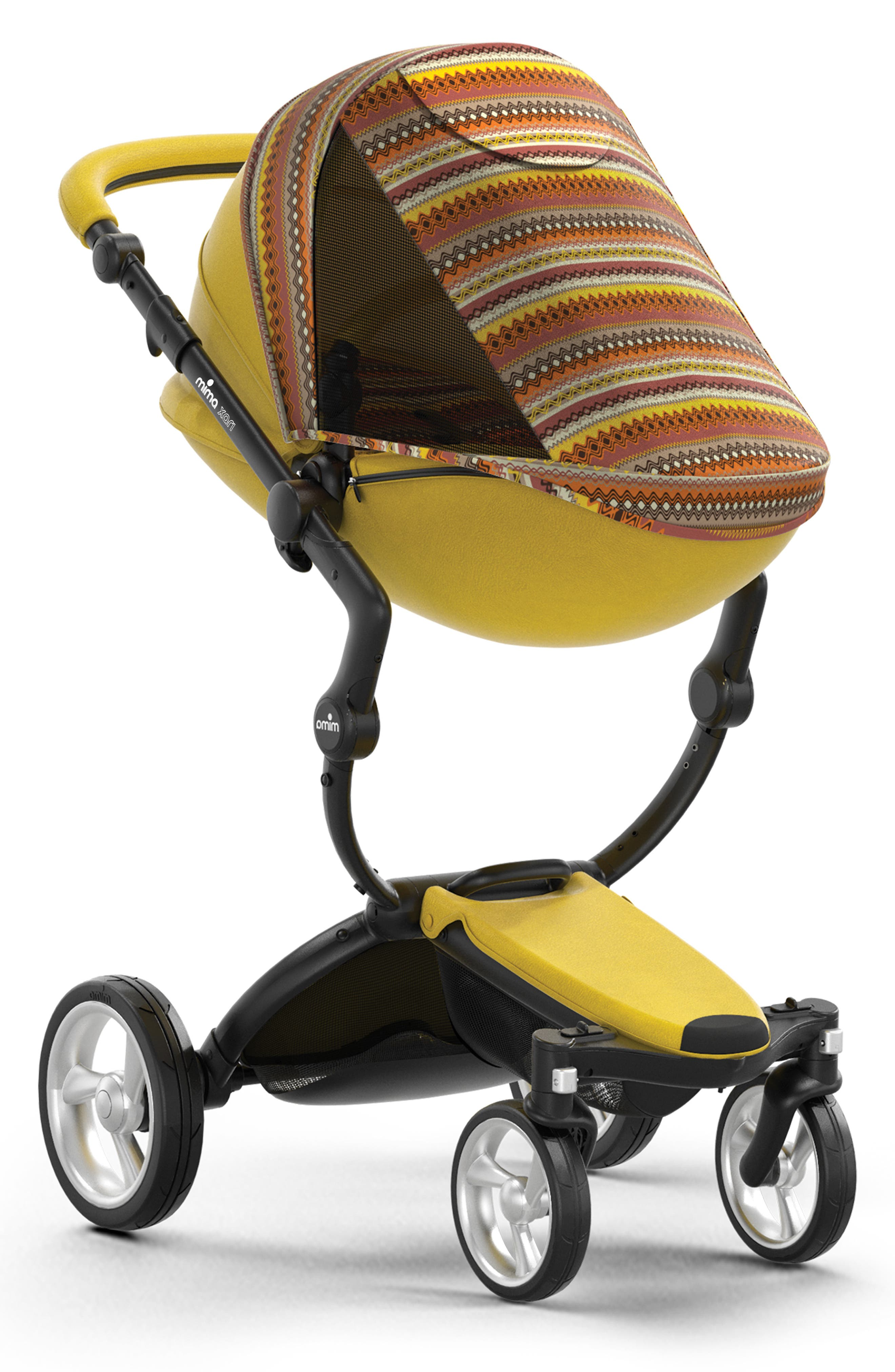 Xari Special Edition Chassis Stroller with Seat, Carrycot & Accessories,                             Alternate thumbnail 4, color,                             SPECIAL EDITION YELLOW