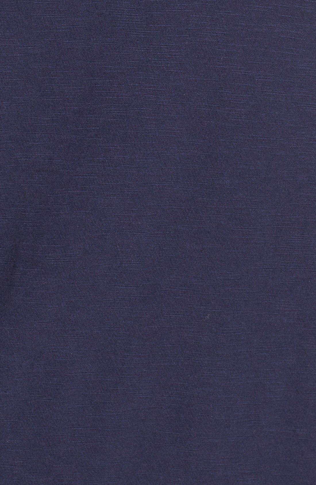 'Essie' Cotton & Modal A-Line Dress,                             Alternate thumbnail 6, color,                             408