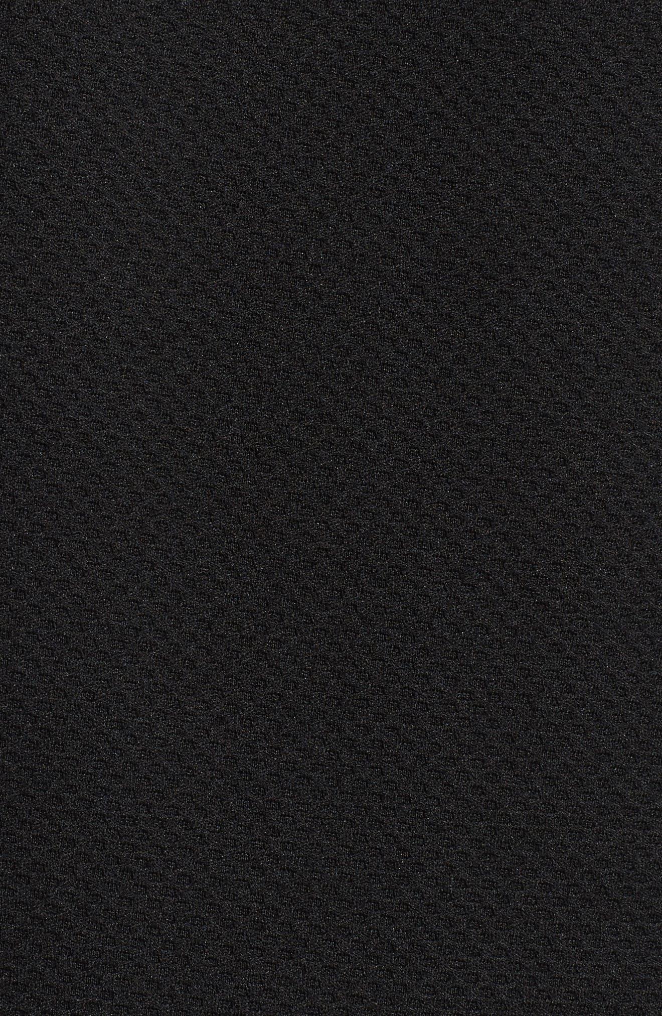 Long Sleeve Zip Polo,                             Alternate thumbnail 5, color,                             019