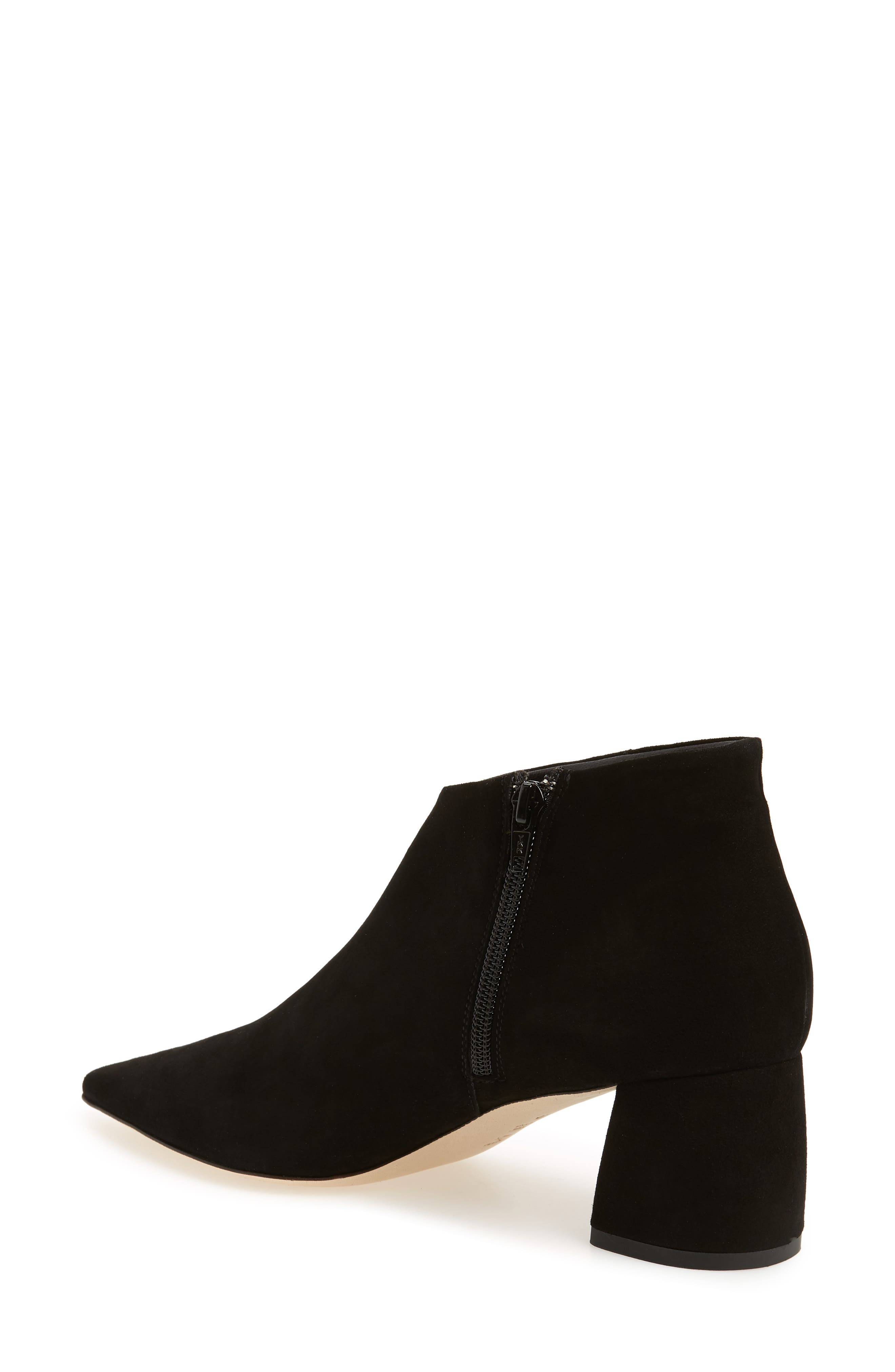 Butter Whistle Pointy Toe Bootie,                             Alternate thumbnail 2, color,                             001