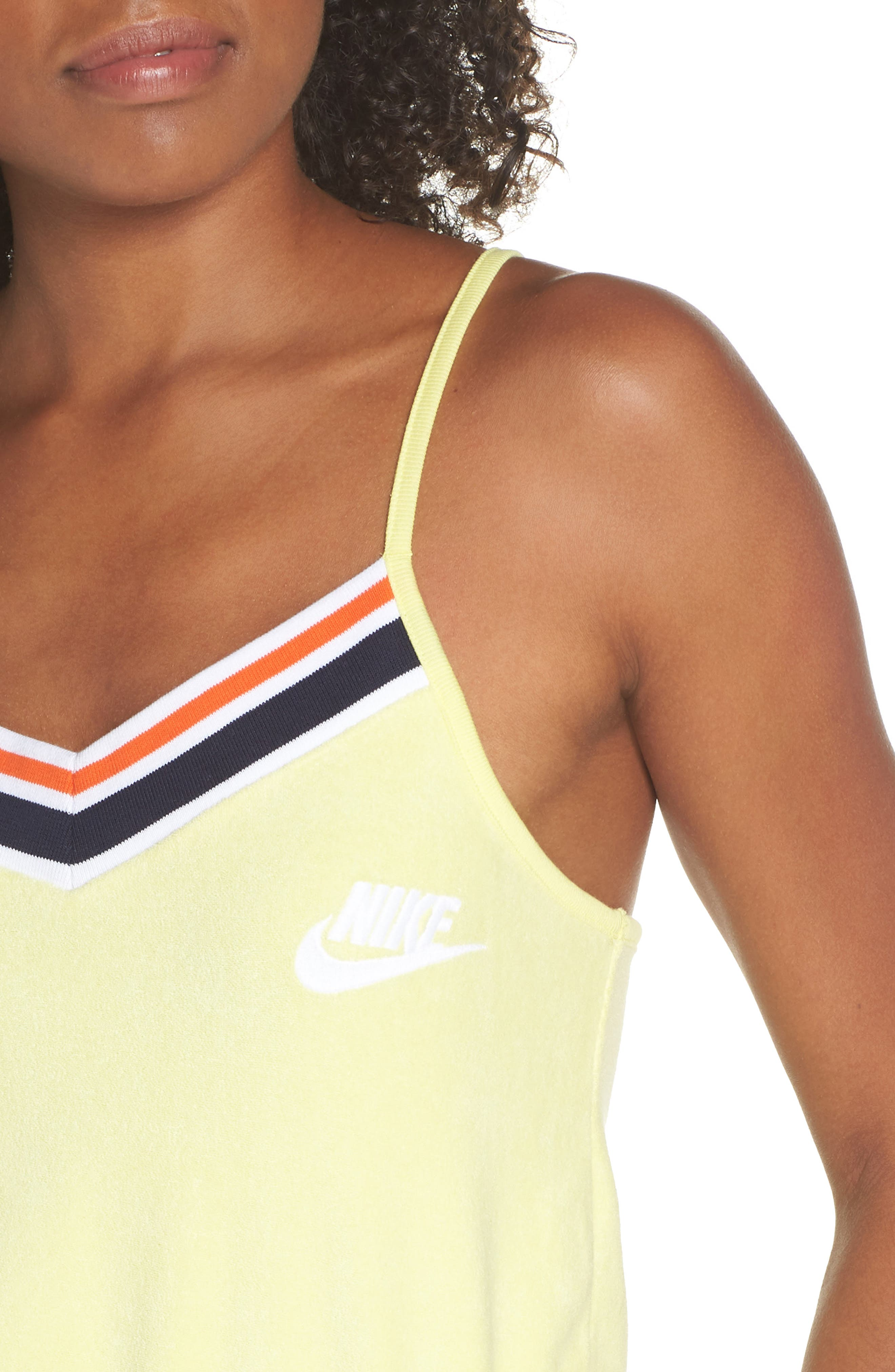 Sportswear Terry Romper,                             Alternate thumbnail 12, color,