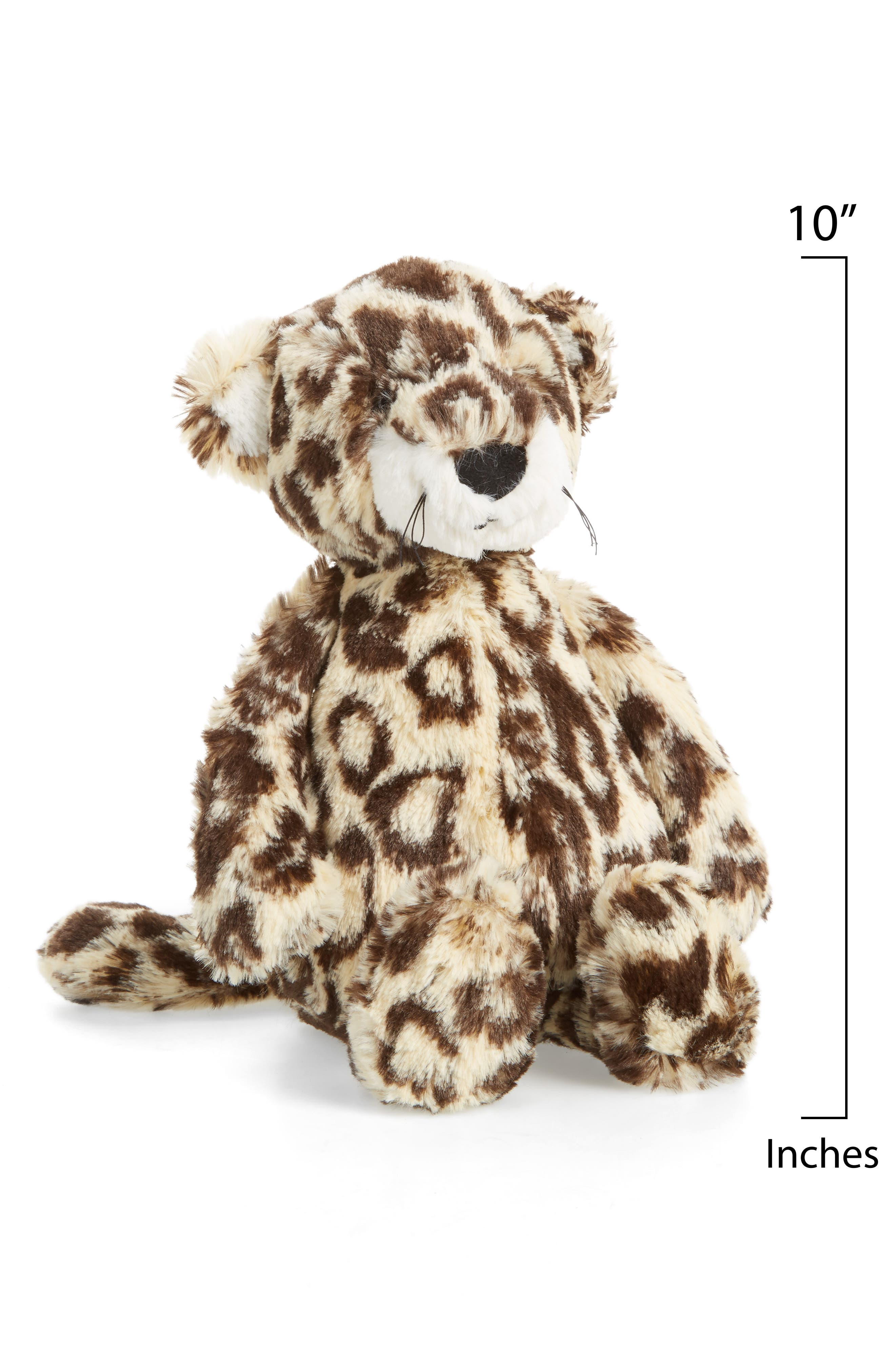 Bashful Leopard Stuffed Animal,                             Alternate thumbnail 2, color,