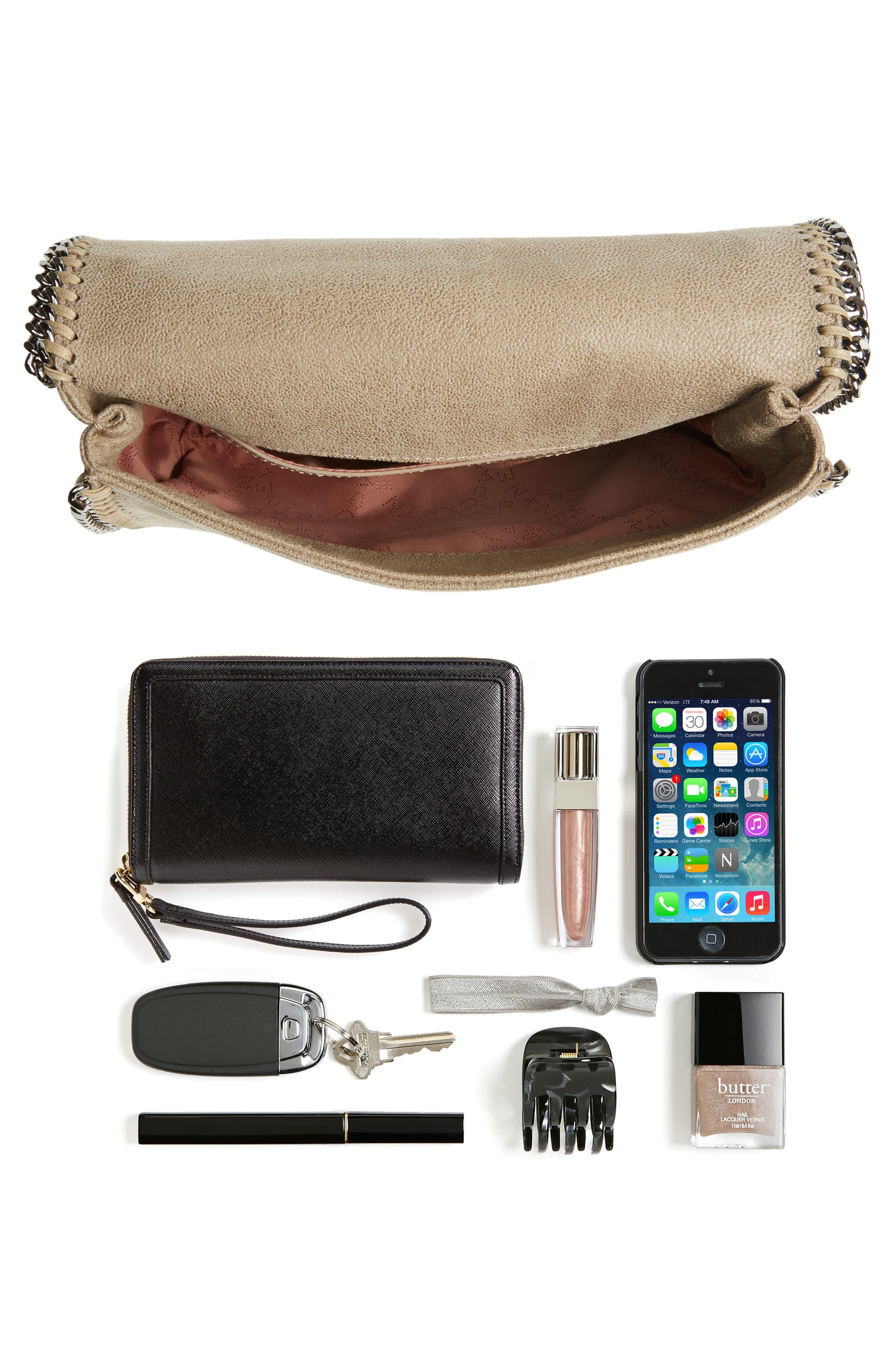 Shaggy Deer Flap Shoulder Bag,                             Alternate thumbnail 25, color,