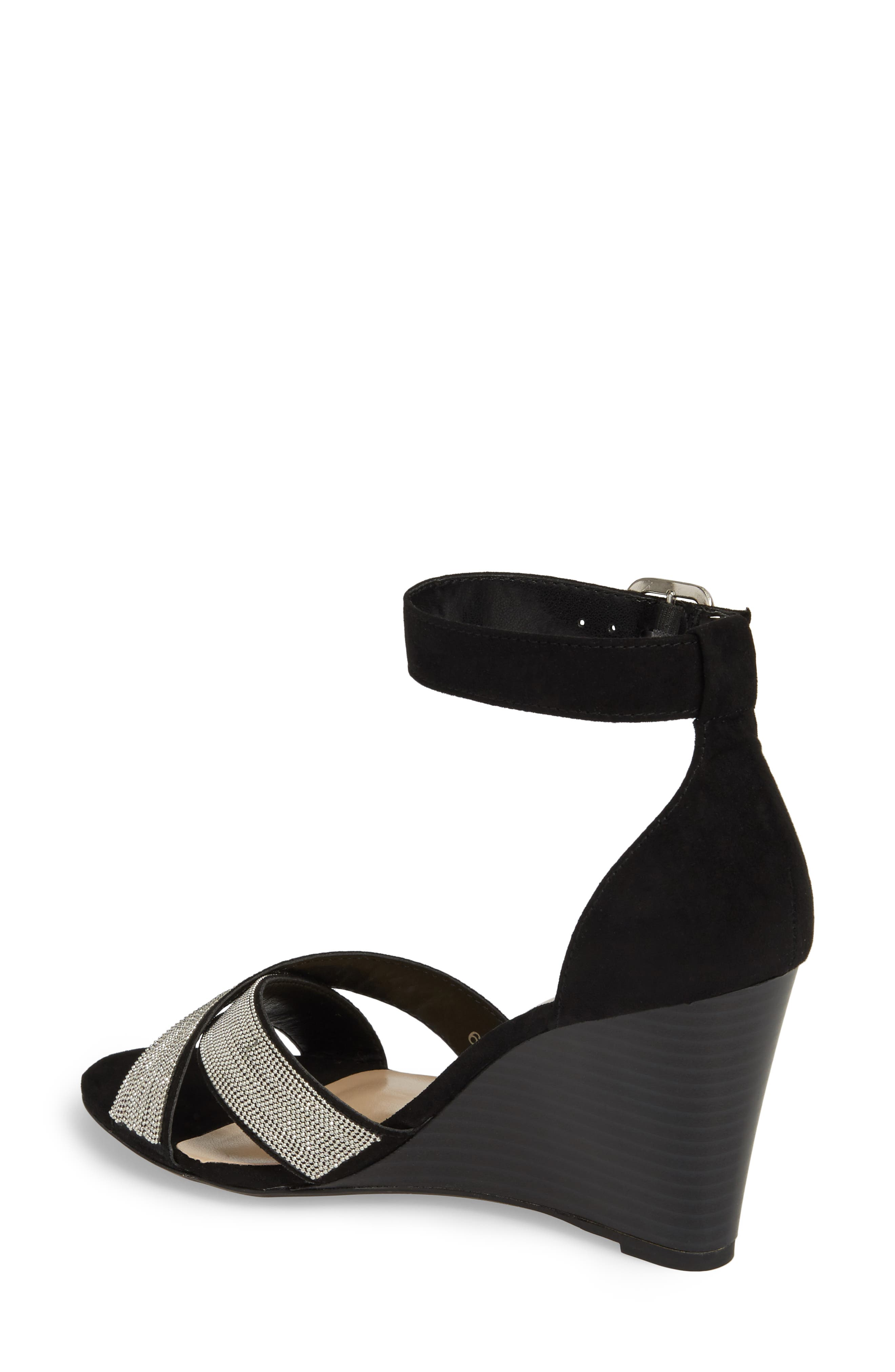 Zorra Wedge Sandal,                             Alternate thumbnail 2, color,                             003