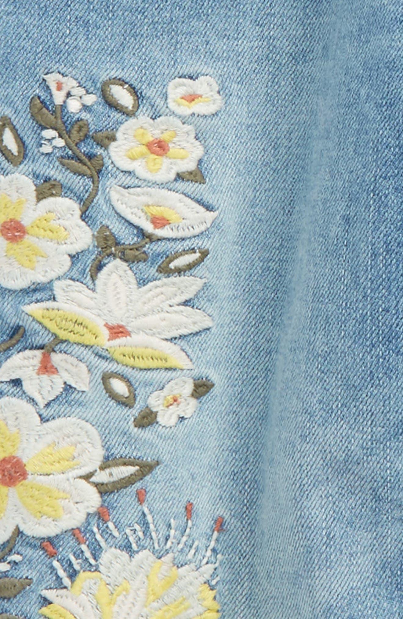 Embellished Jeans,                             Alternate thumbnail 3, color,                             420