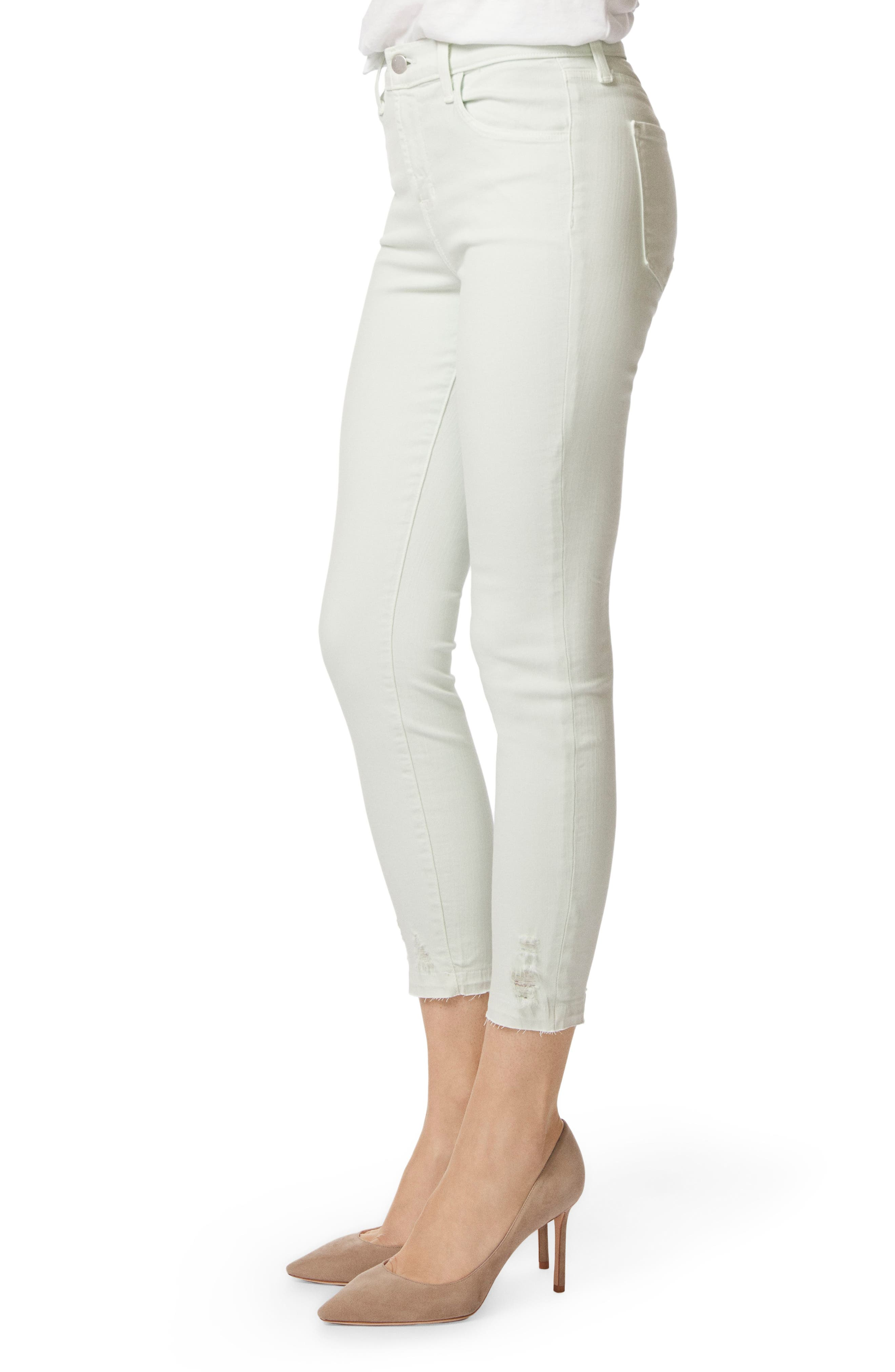 'Alana' High Rise Crop Skinny Jeans,                             Alternate thumbnail 3, color,                             336