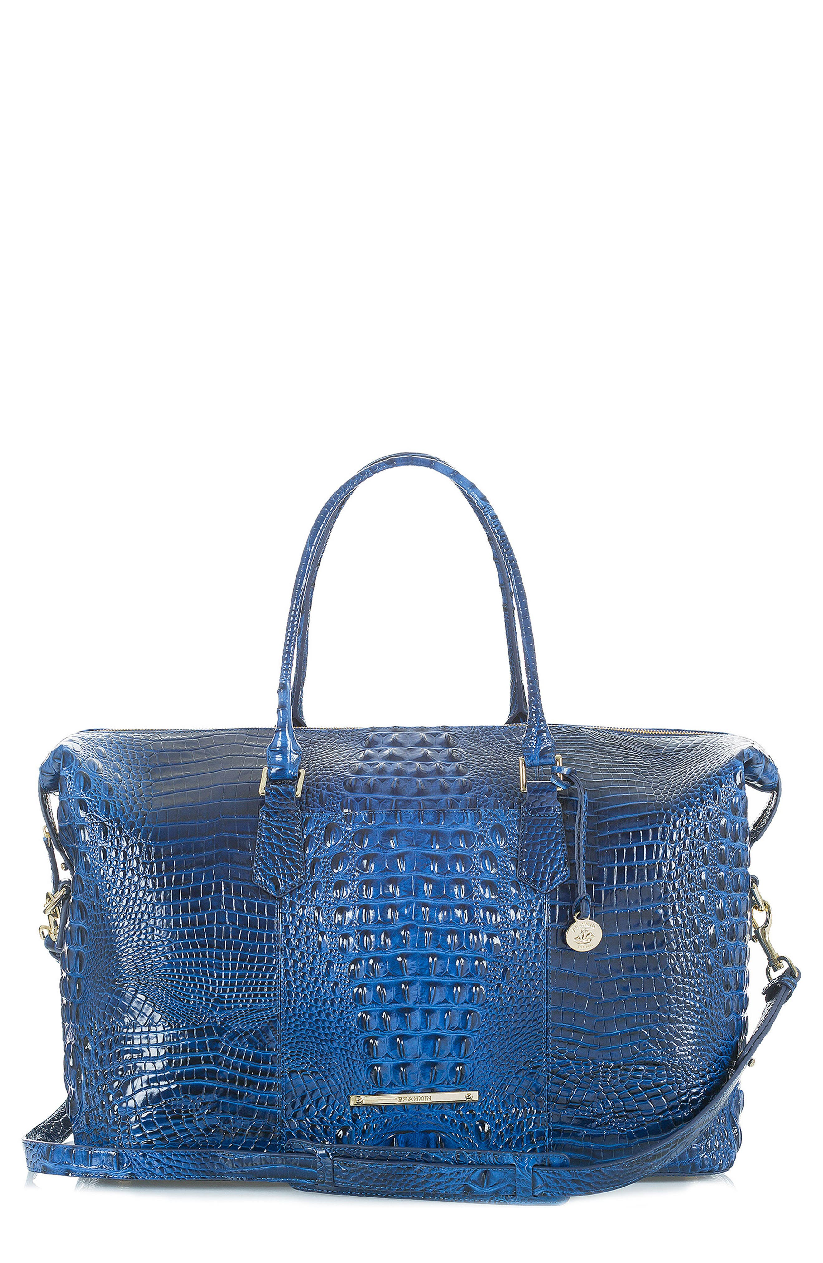 'Duxbury' Leather Travel Bag,                             Main thumbnail 2, color,