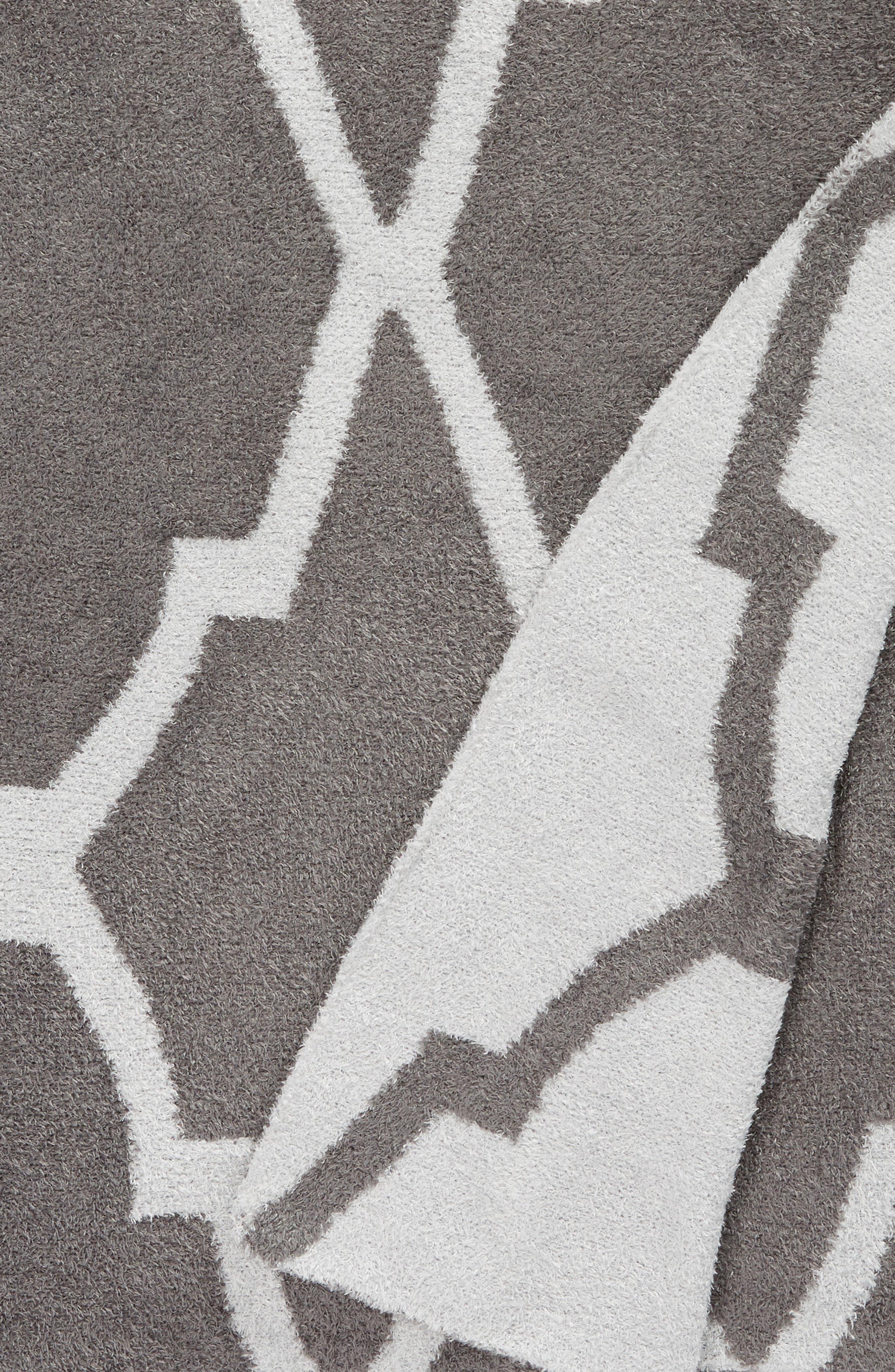 GIRAFFE AT HOME,                             'Moroccan Dolce' Throw,                             Alternate thumbnail 2, color,                             CHARCOAL/ SILVER