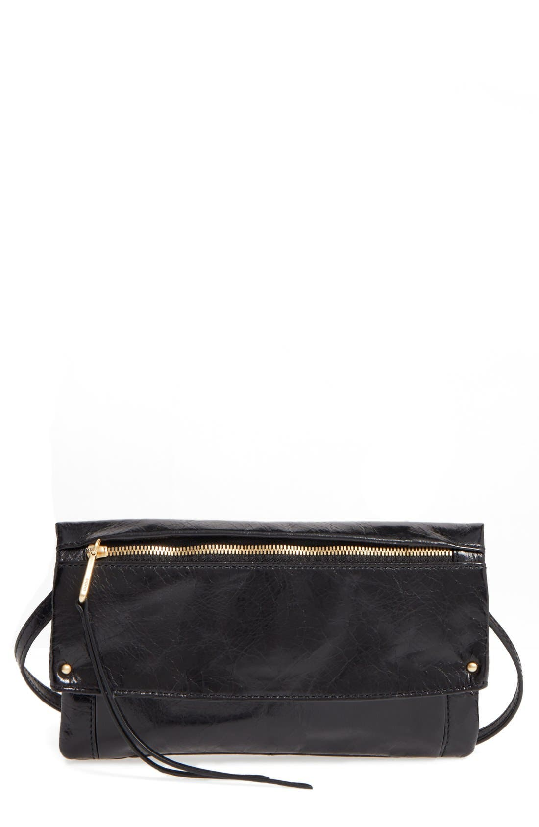 Rudy Leather Crossbody Bag,                             Main thumbnail 1, color,                             001