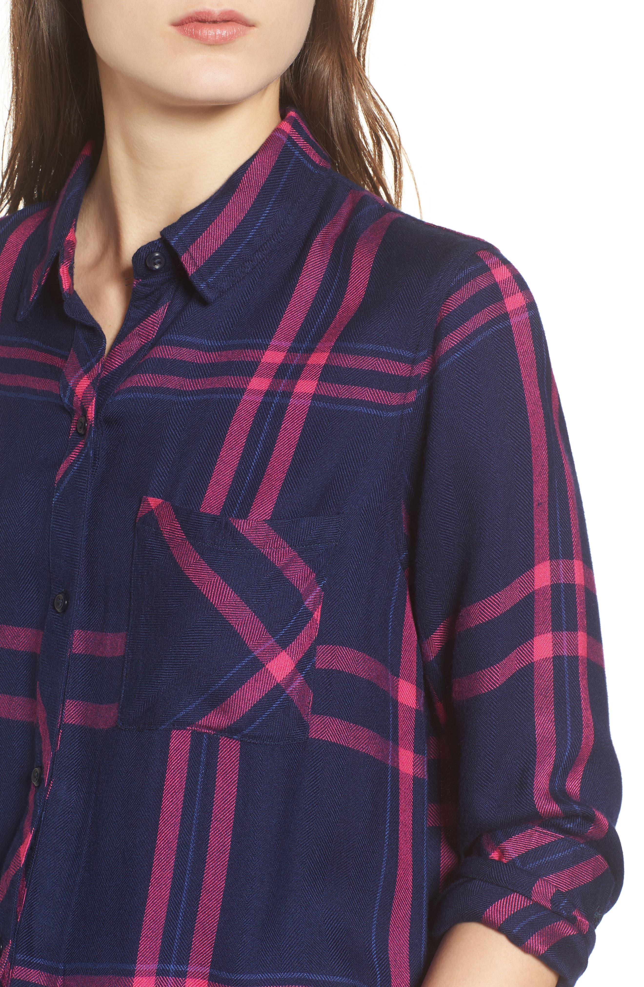 Hunter Plaid Shirt,                             Alternate thumbnail 456, color,