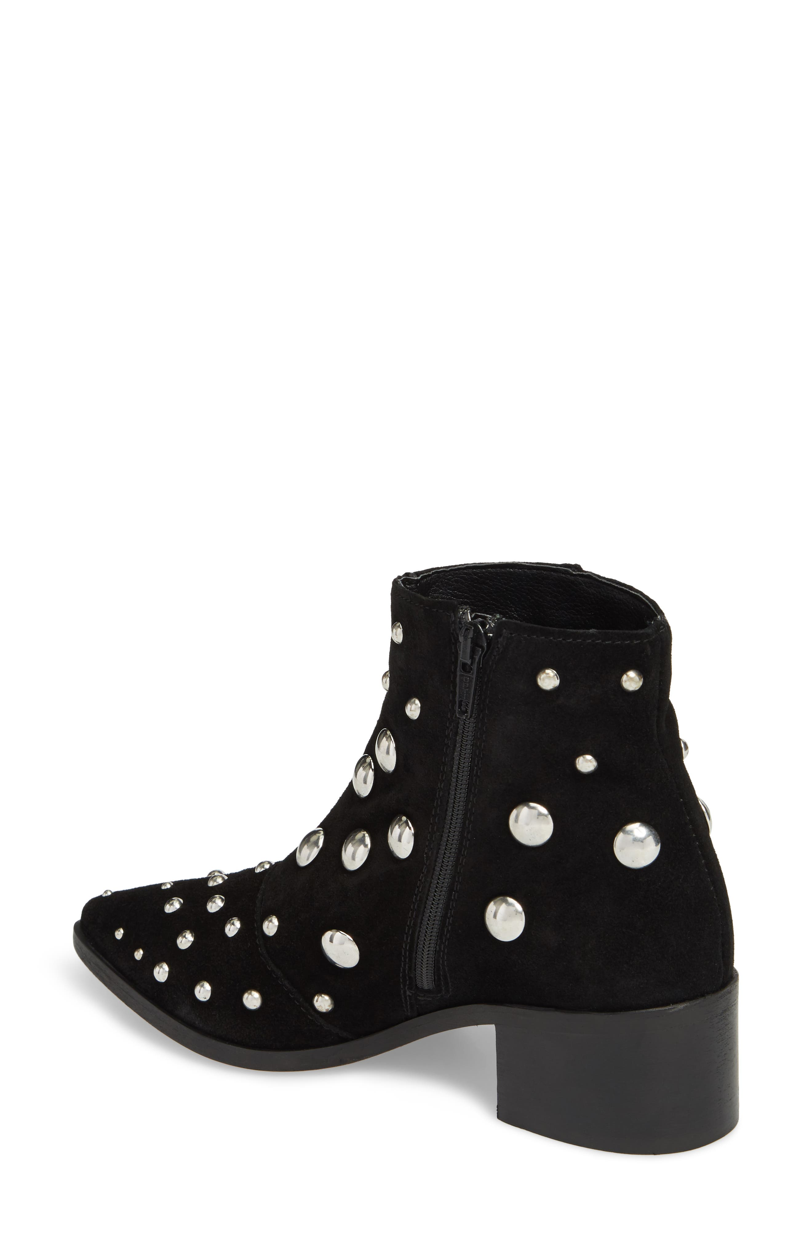 Barston Studded Boot,                             Alternate thumbnail 2, color,                             001