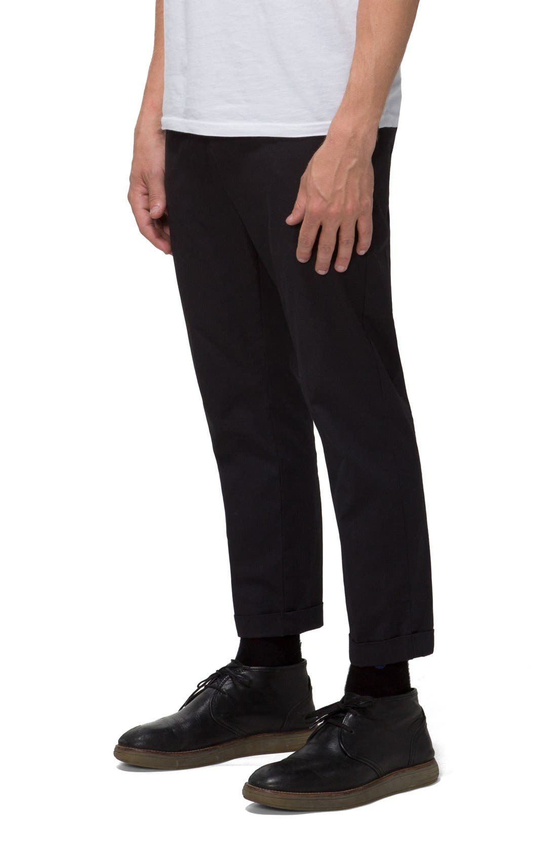 'Arroyo' Crop Stretch Chinos,                             Alternate thumbnail 2, color,                             001