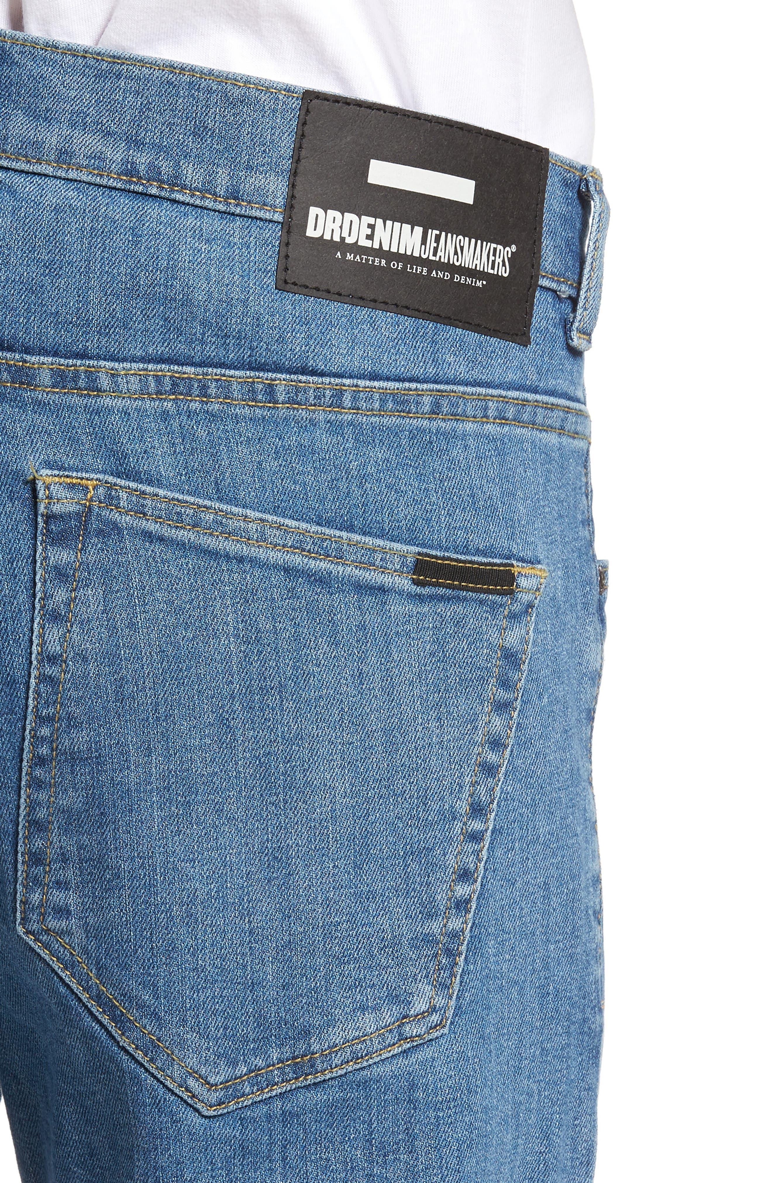 Clark Slim Straight Fit Jeans,                             Alternate thumbnail 4, color,