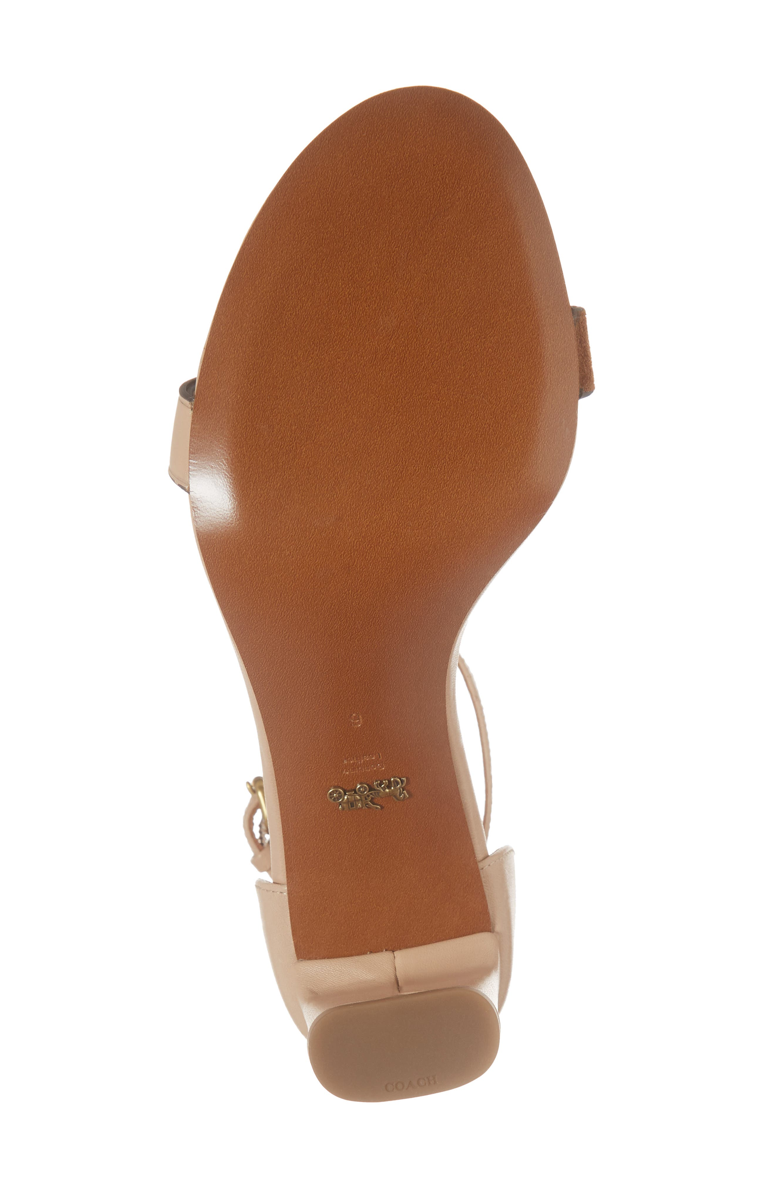 Link Ankle Strap Sandal,                             Alternate thumbnail 12, color,