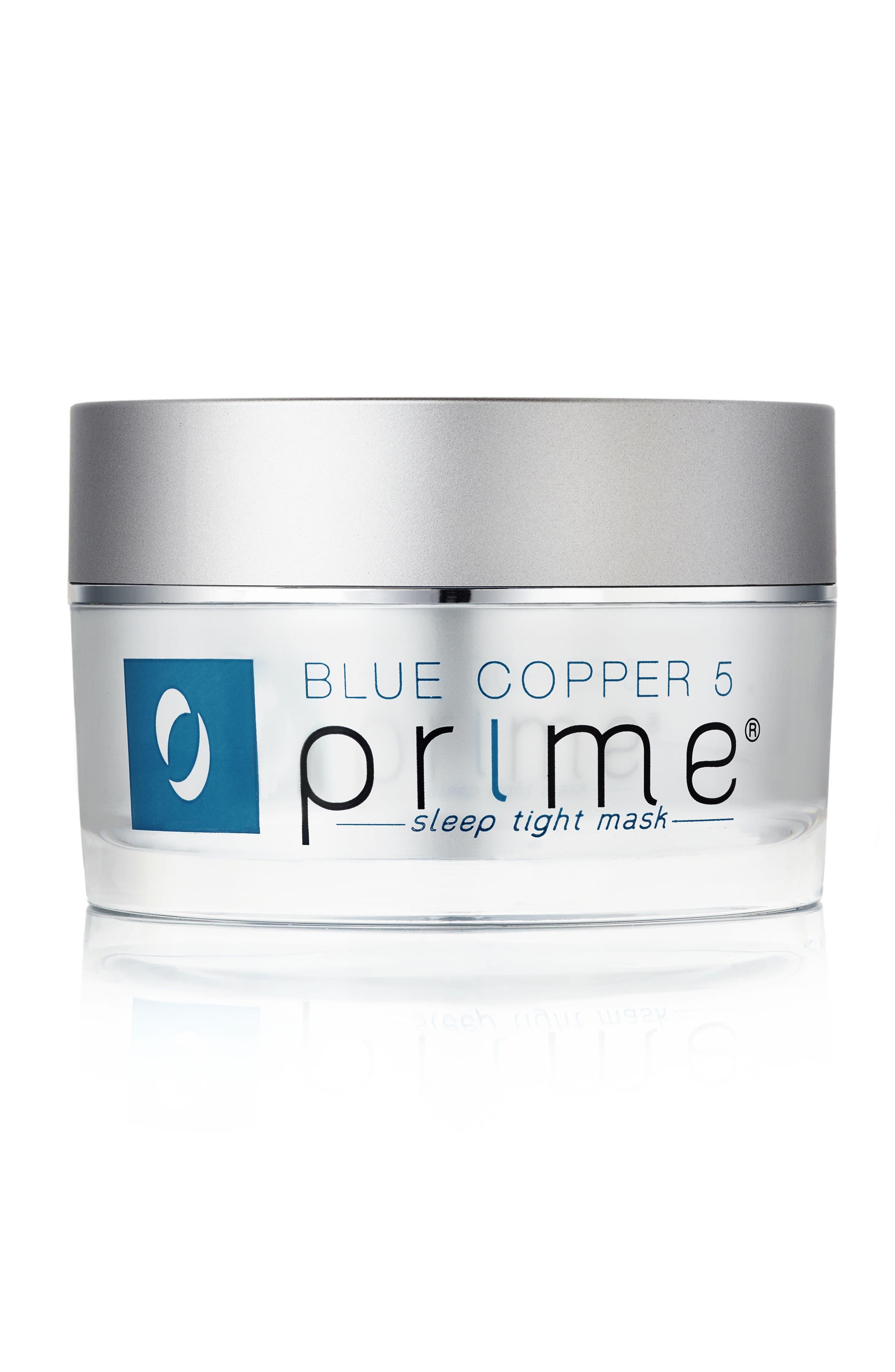 Blue Copper 5 Prime<sup>®</sup> Sleep Tight Mask,                             Main thumbnail 1, color,                             NO COLOR