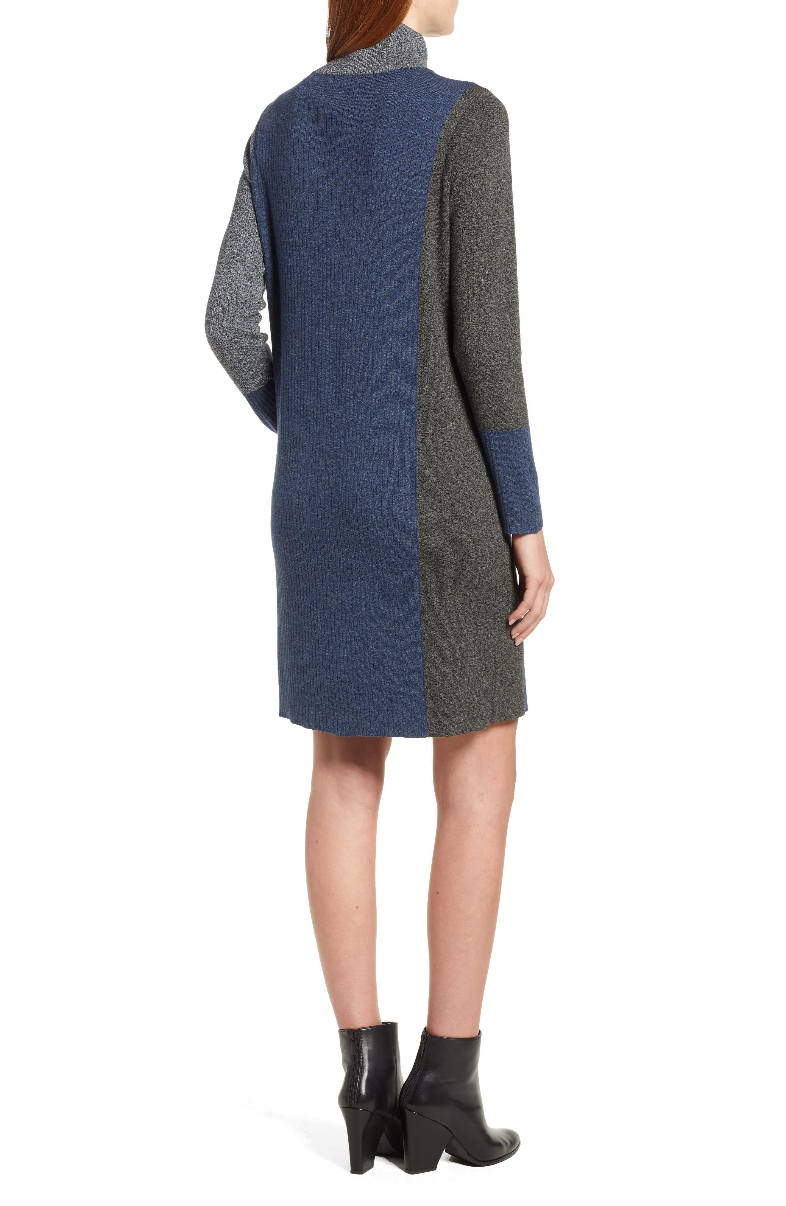 Laid Back Sweater Dress,                             Alternate thumbnail 2, color,                             090