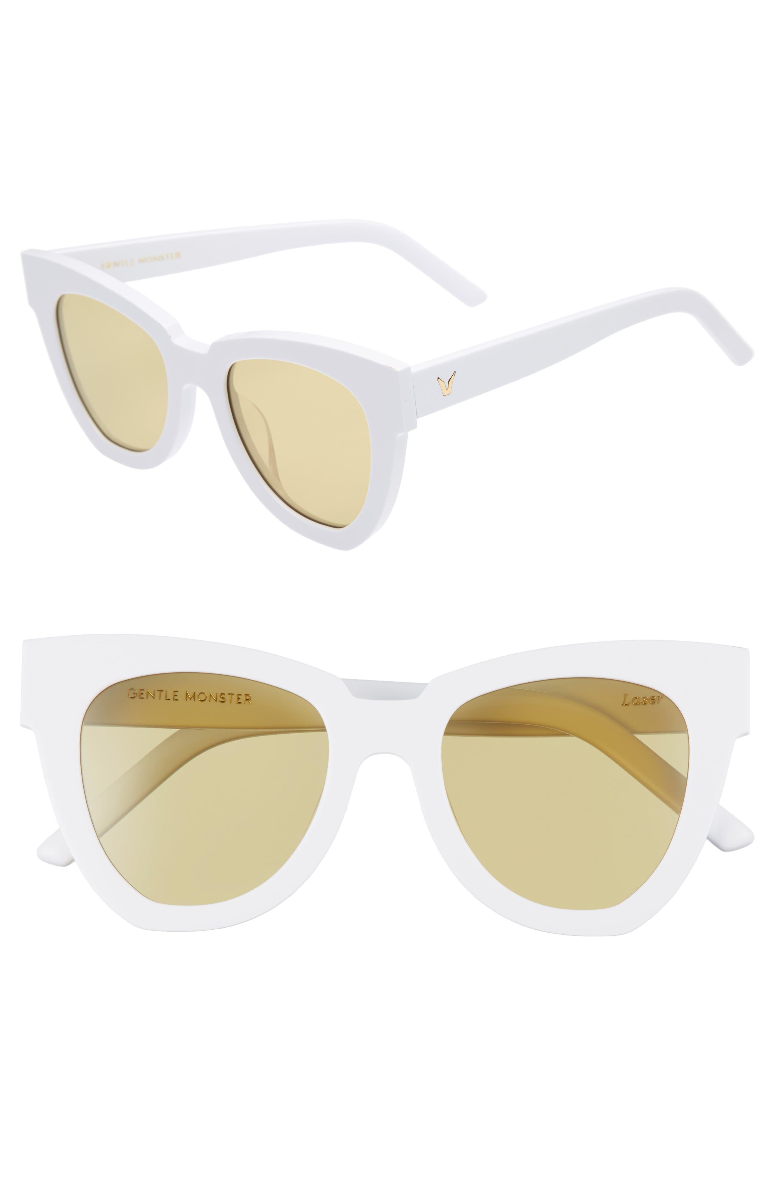 Laser 51mm Cat Eye Sunglasses,                             Main thumbnail 2, color,