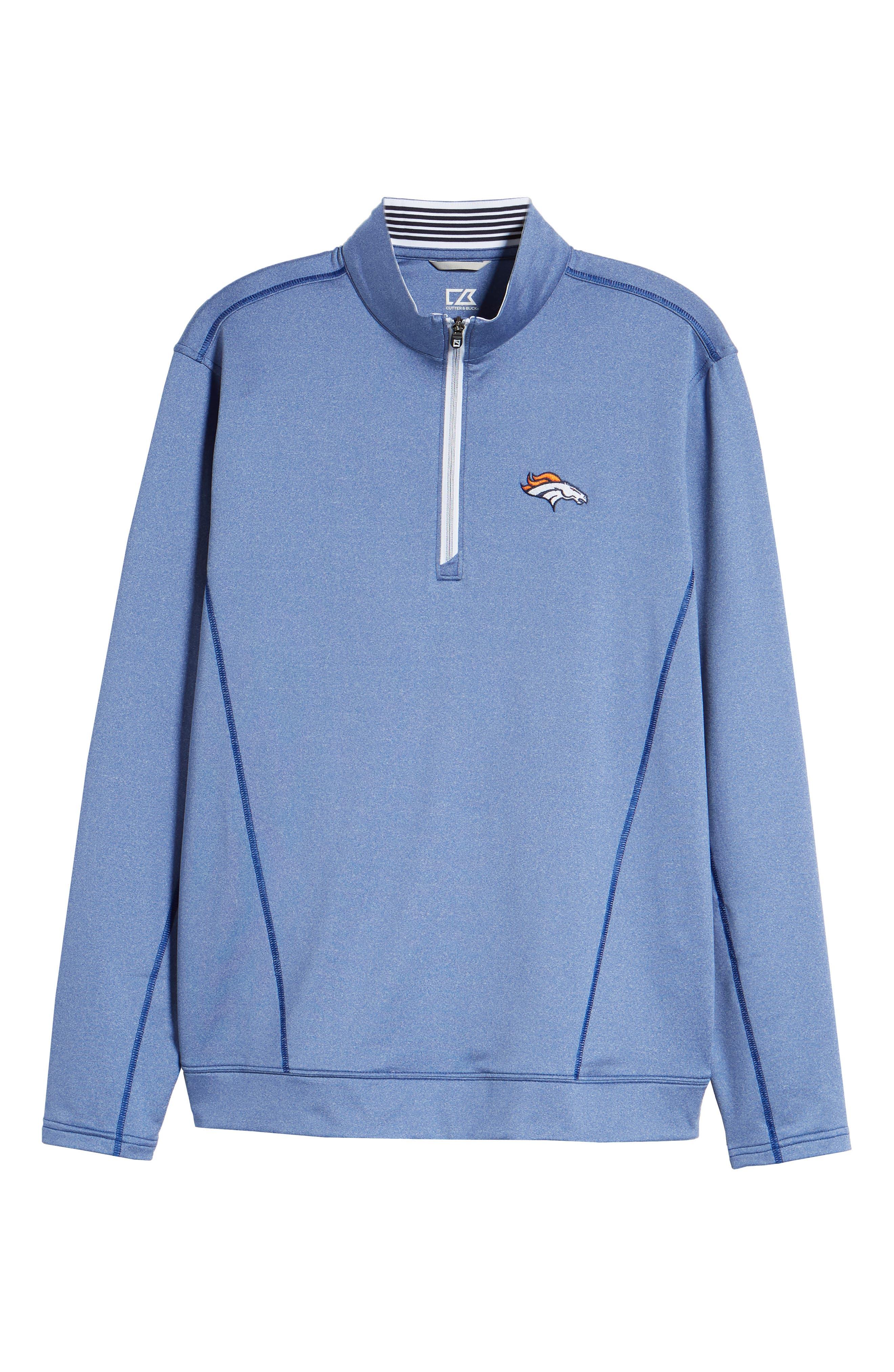 Endurance Denver Broncos Regular Fit Pullover,                             Alternate thumbnail 6, color,                             425