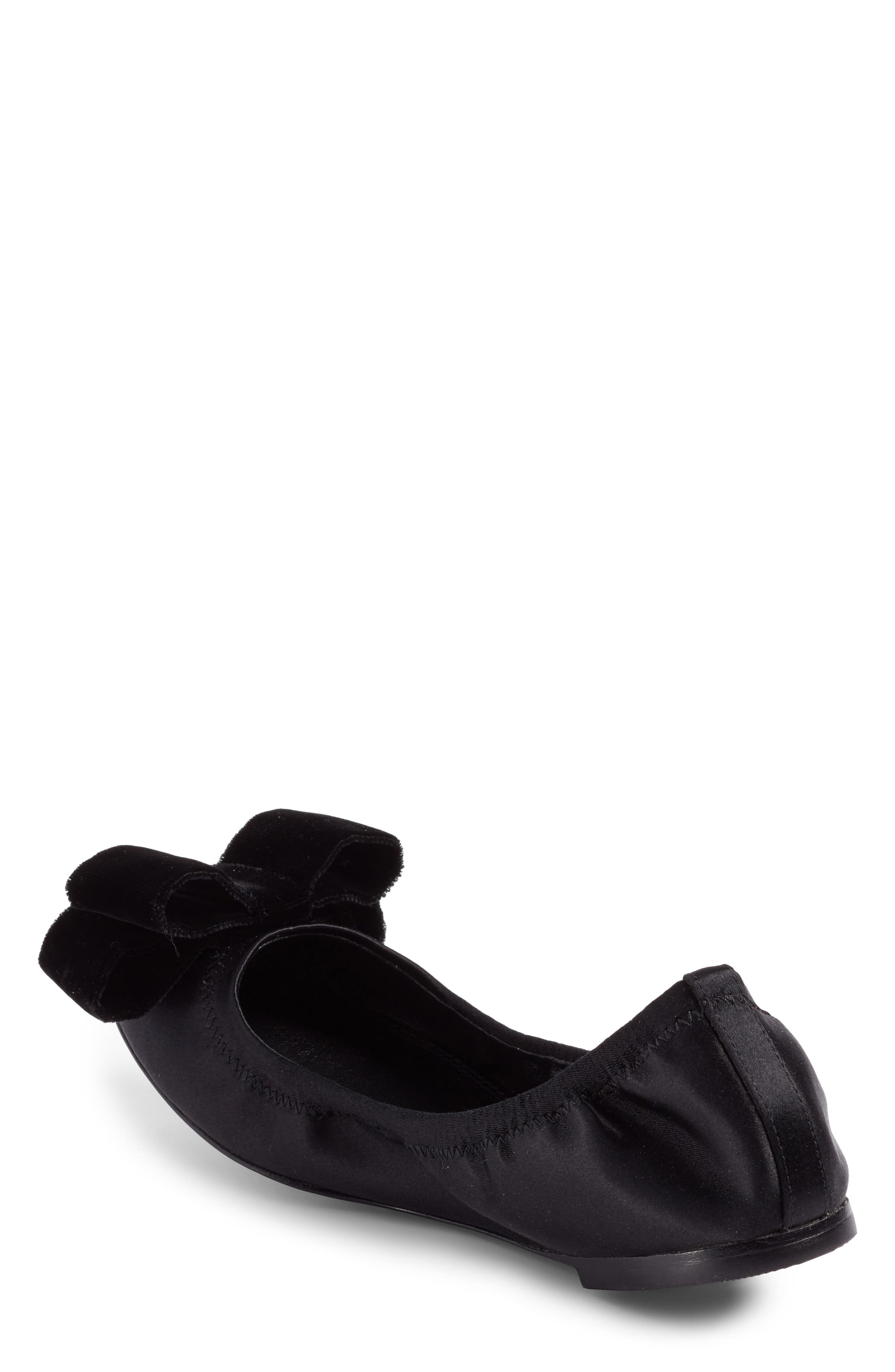 Viola Bow Ballet Flat,                             Alternate thumbnail 2, color,                             009