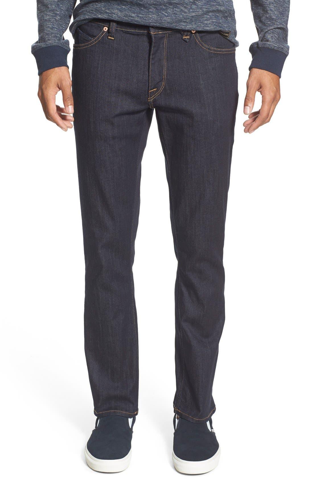 'Vorta' Slim Fit Jeans,                             Main thumbnail 6, color,