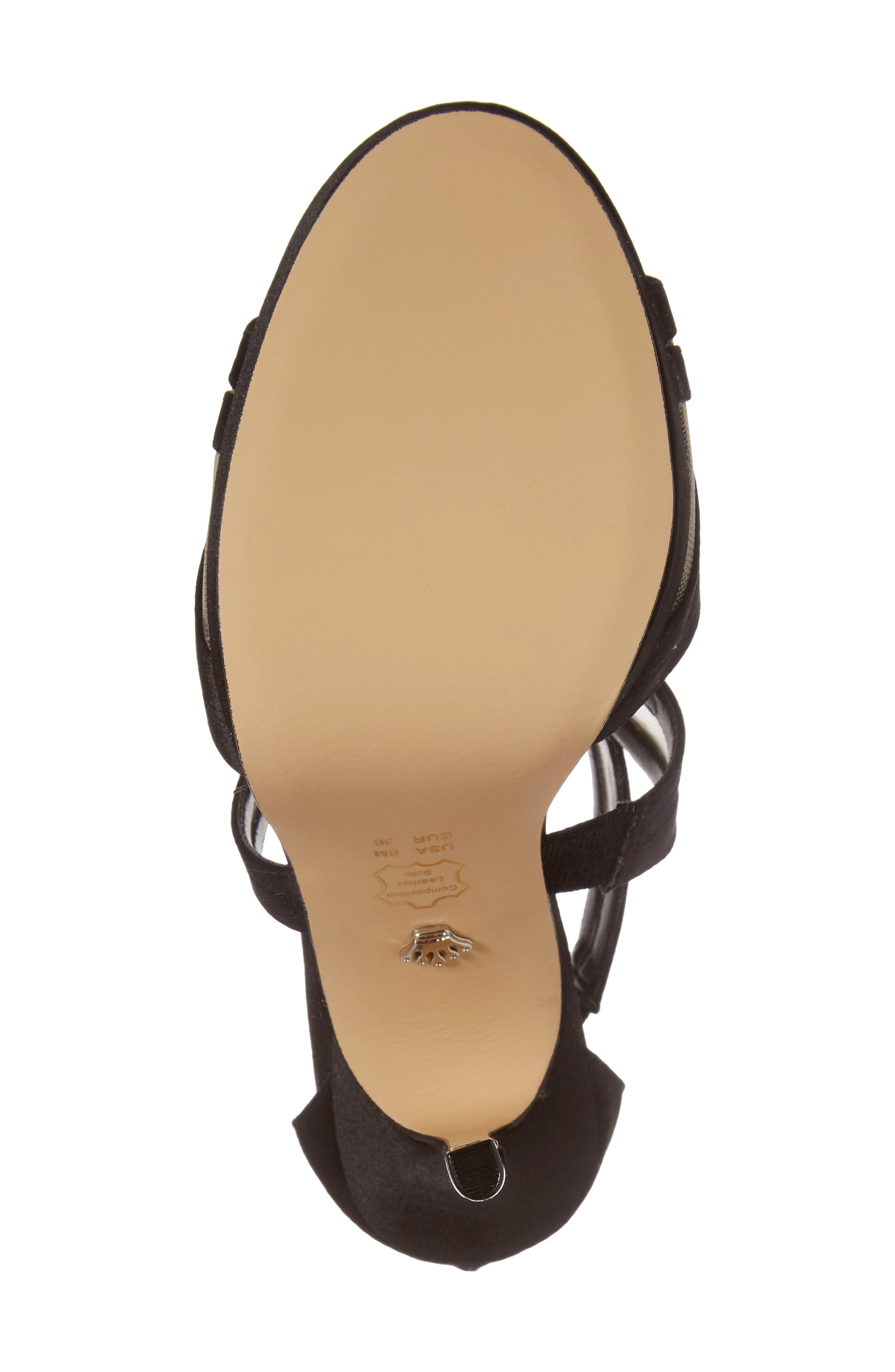 Fayette Strappy Sandal,                             Alternate thumbnail 6, color,                             003