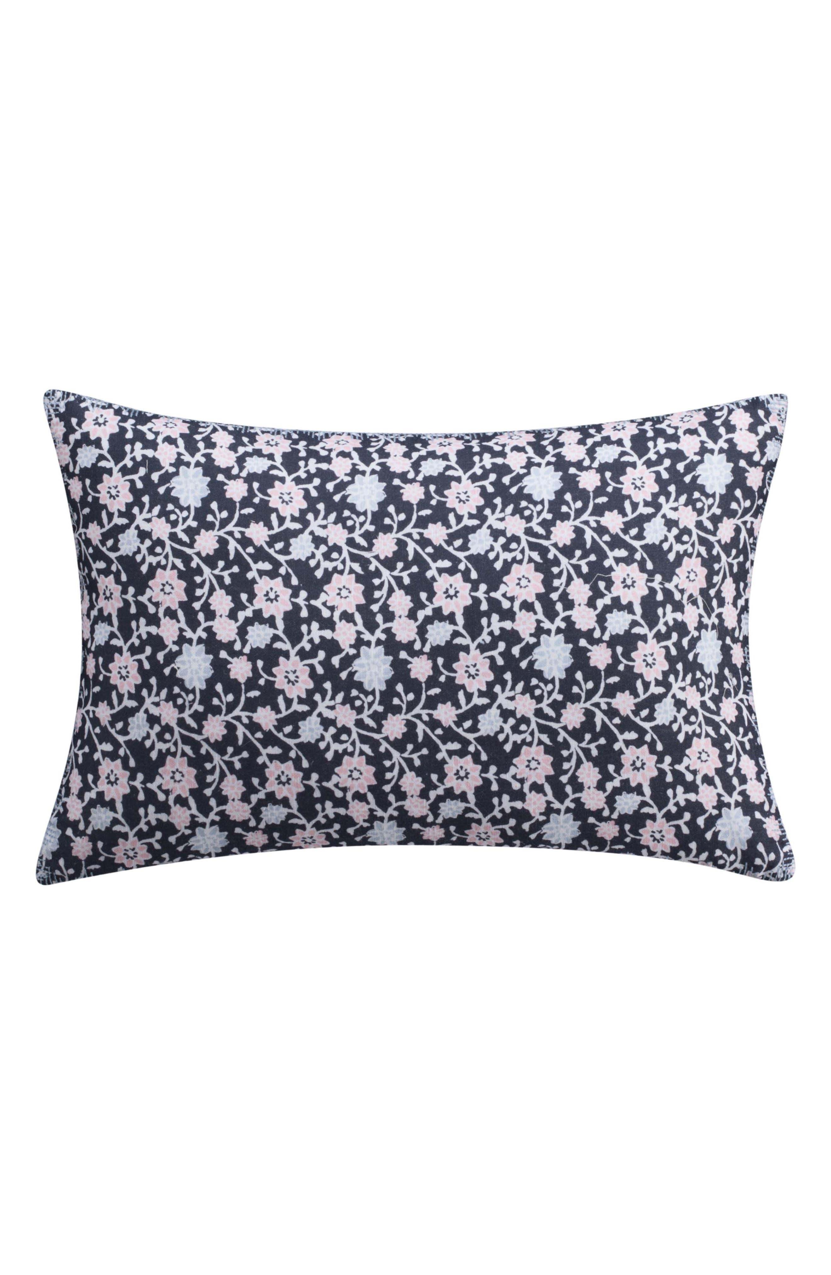 Floral Print Accent Pillow,                             Main thumbnail 1, color,