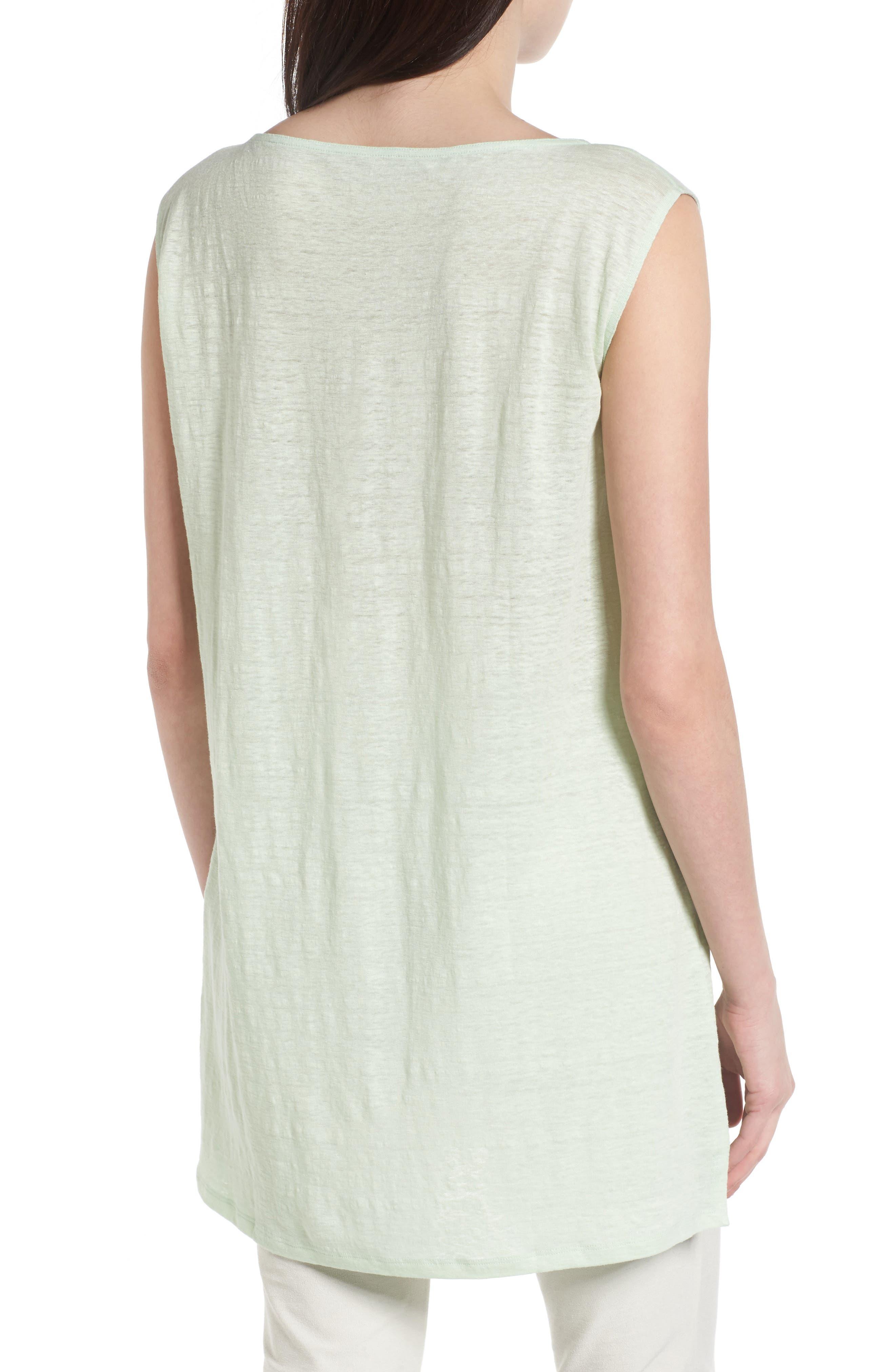 Organic Linen Tunic,                             Alternate thumbnail 2, color,                             365
