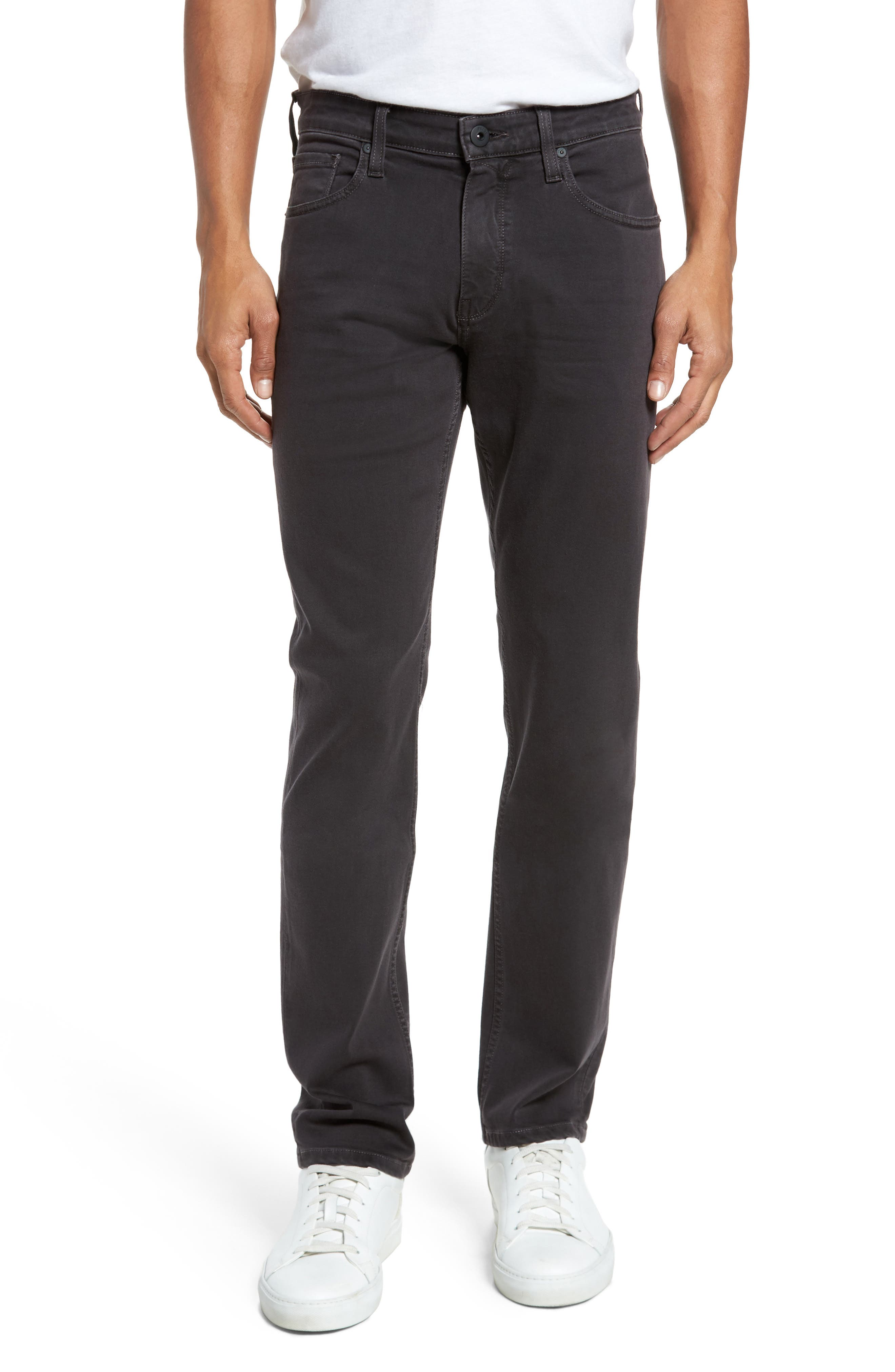 Transcend - Federal Slim Straight Leg Jeans,                             Main thumbnail 1, color,                             001