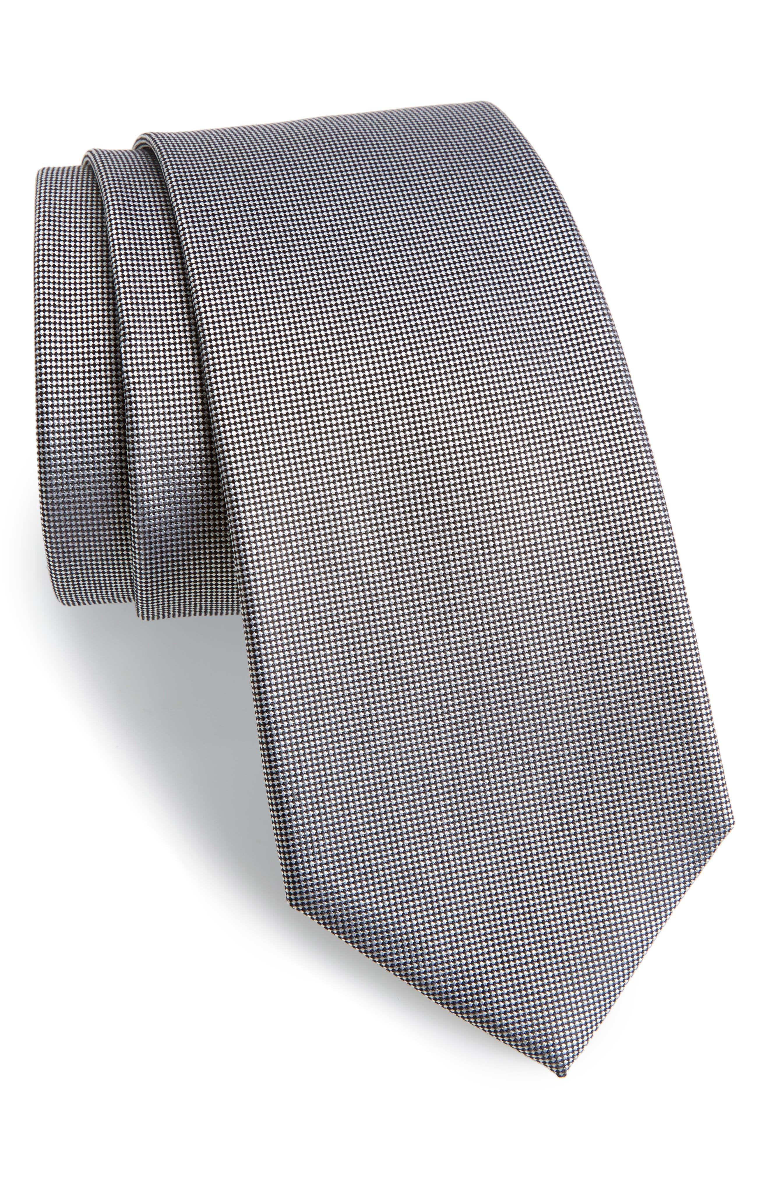 Woven Silk Tie,                             Main thumbnail 1, color,