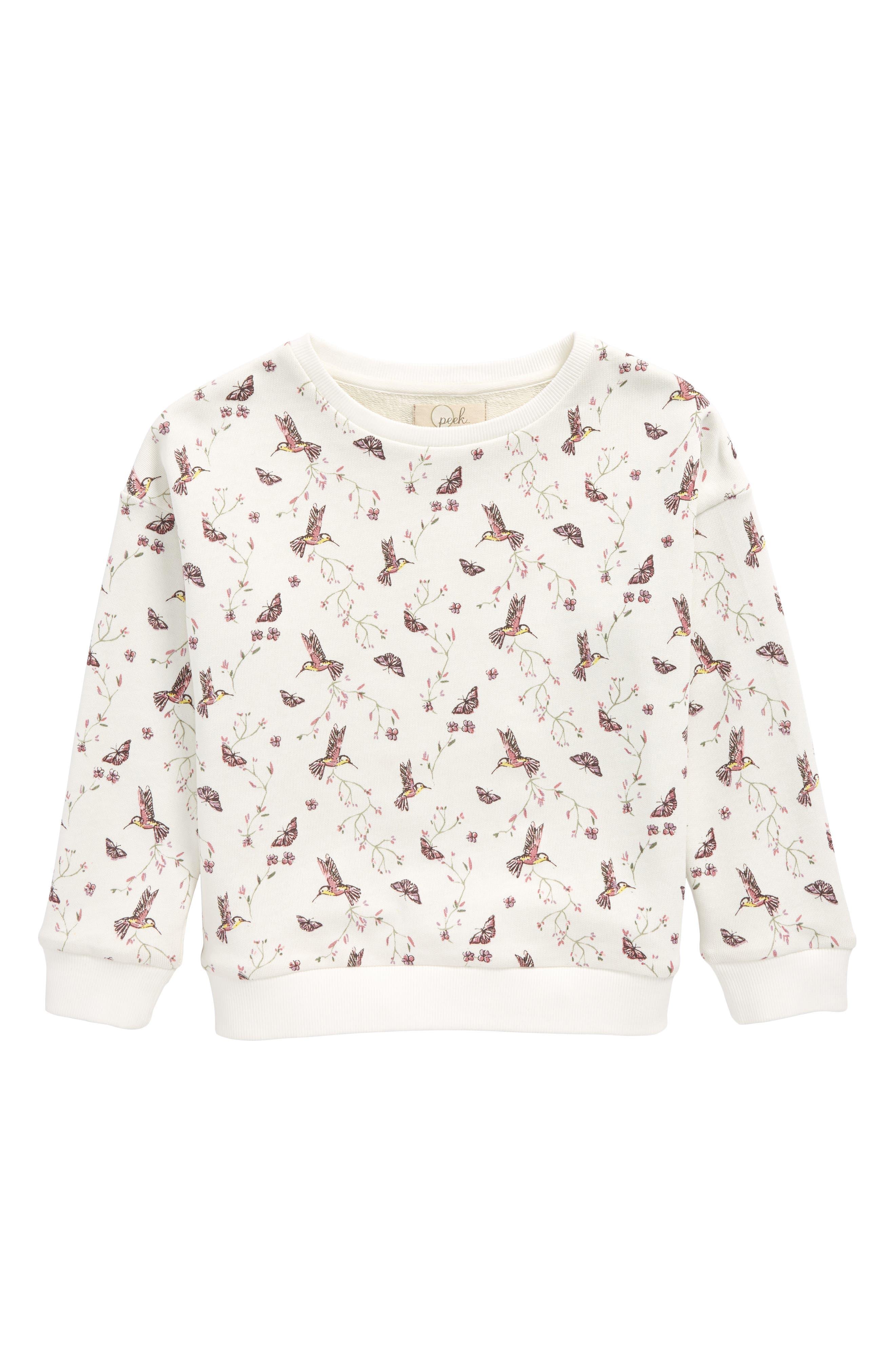 Hummingbird Sweatshirt,                         Main,                         color, 906